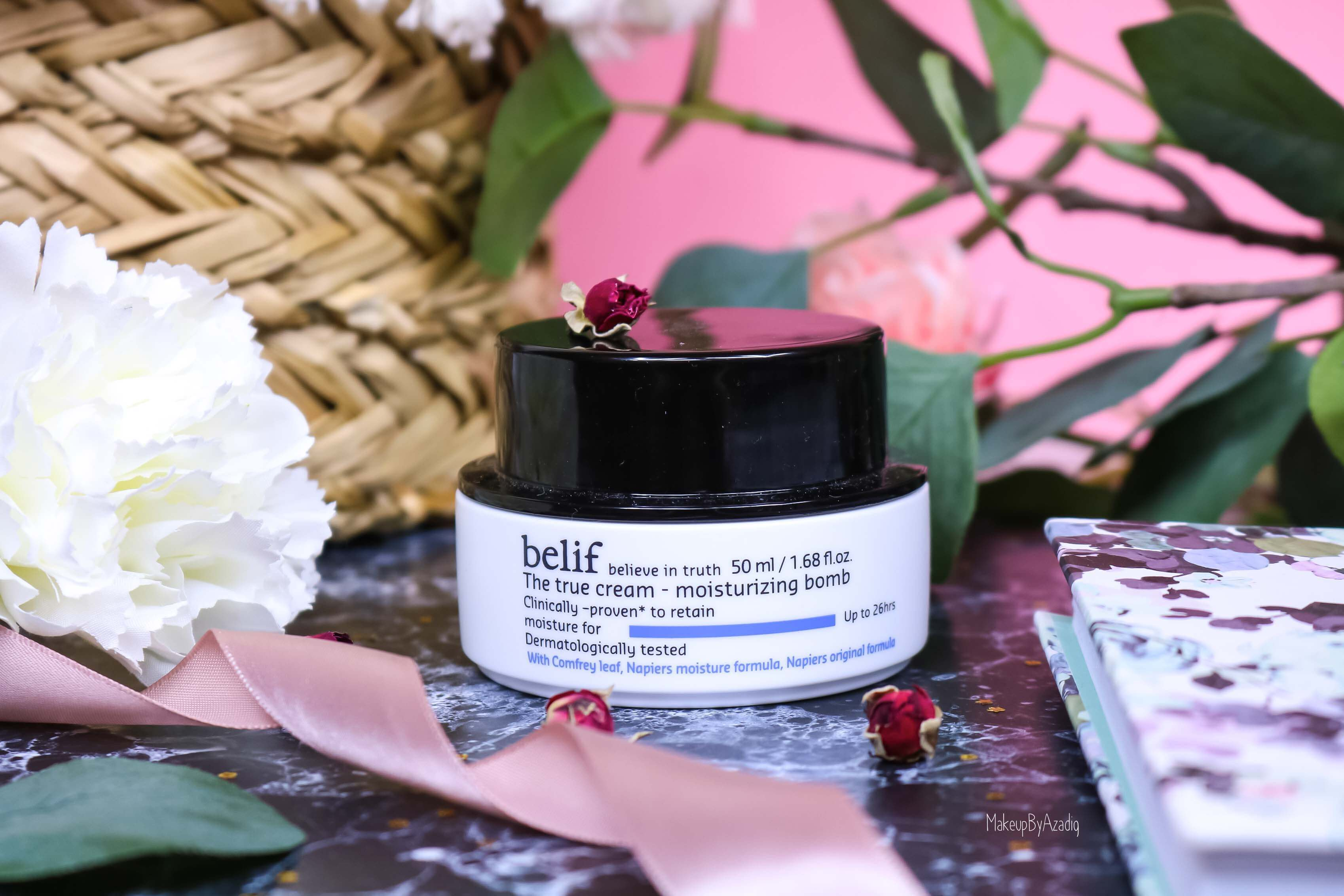 The True Cream Moisturizing Bomb de BELIF
