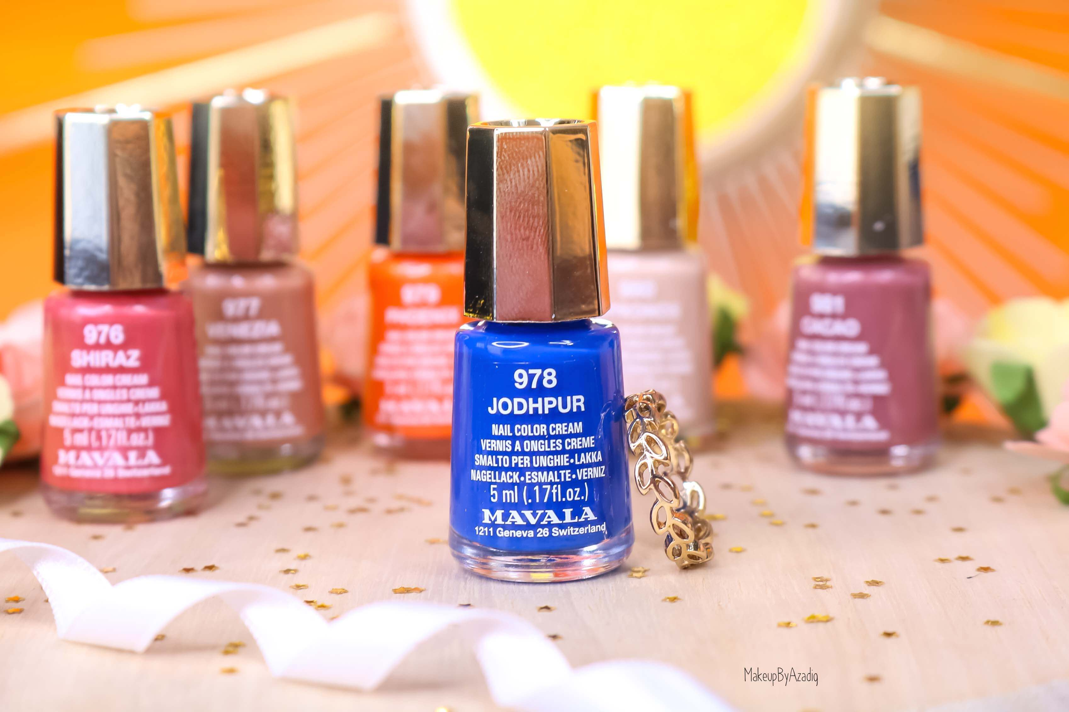 revue-collection-vernis-mavala-nails-solaris-printemps-bleu-orange-makeupbyazadig-swatch-avis-prix-johdpur