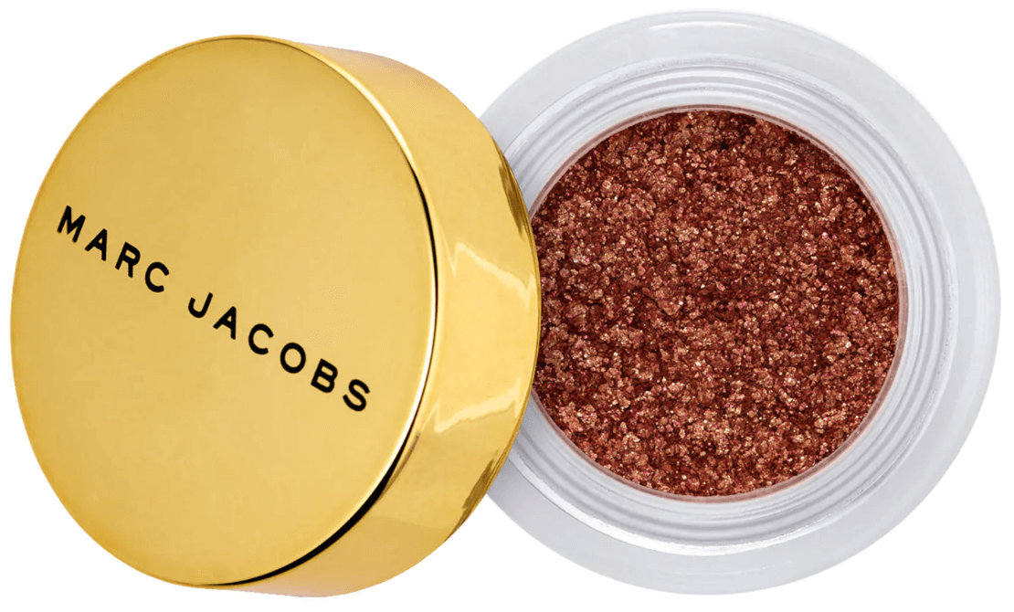 revue-fard-paupieres-paillete-marc-jacobs-beauty-gleam-girl-makeupbyazadig-avis-prix-swatch-bronze