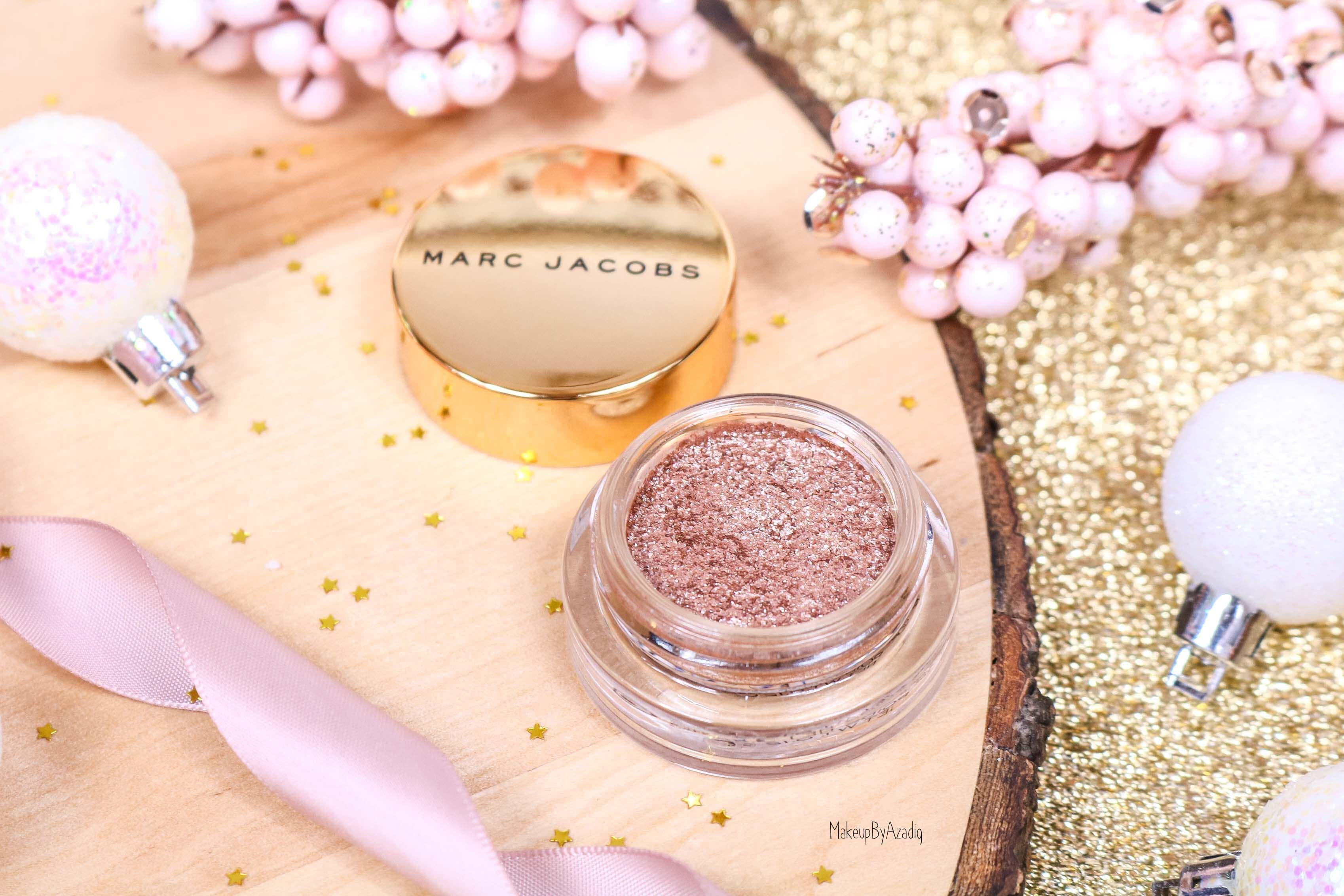 revue-fard-paupieres-paillete-marc-jacobs-beauty-gleam-girl-makeupbyazadig-avis-prix-swatch-lumineux