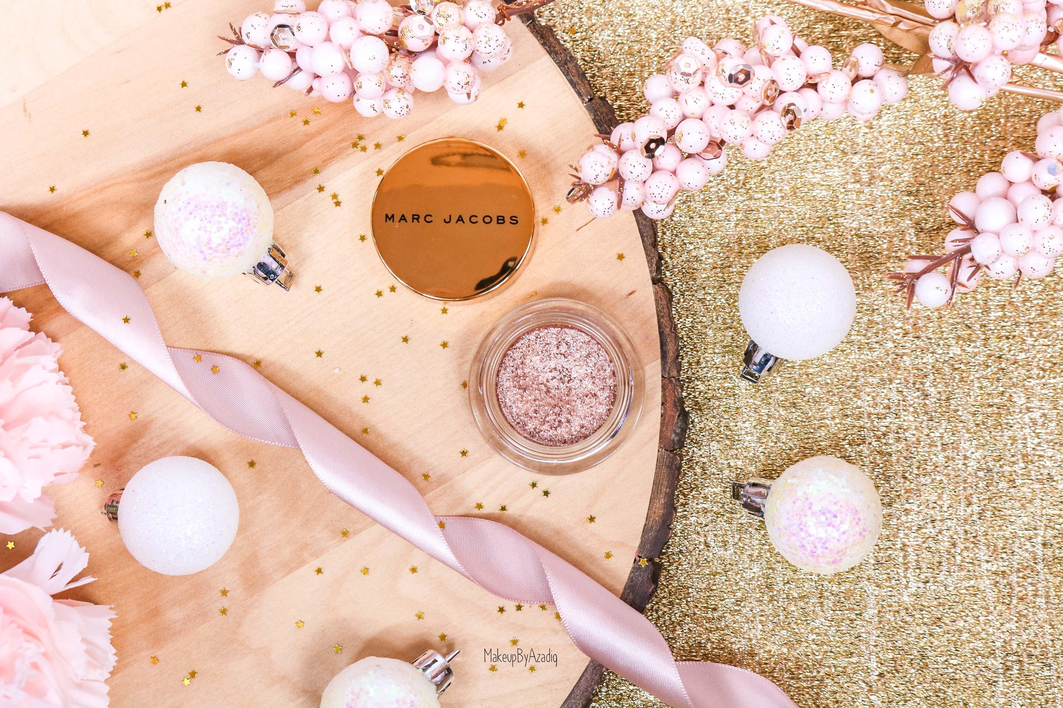 revue-fard-paupieres-paillete-marc-jacobs-beauty-gleam-girl-makeupbyazadig-avis-prix-swatch-sephora