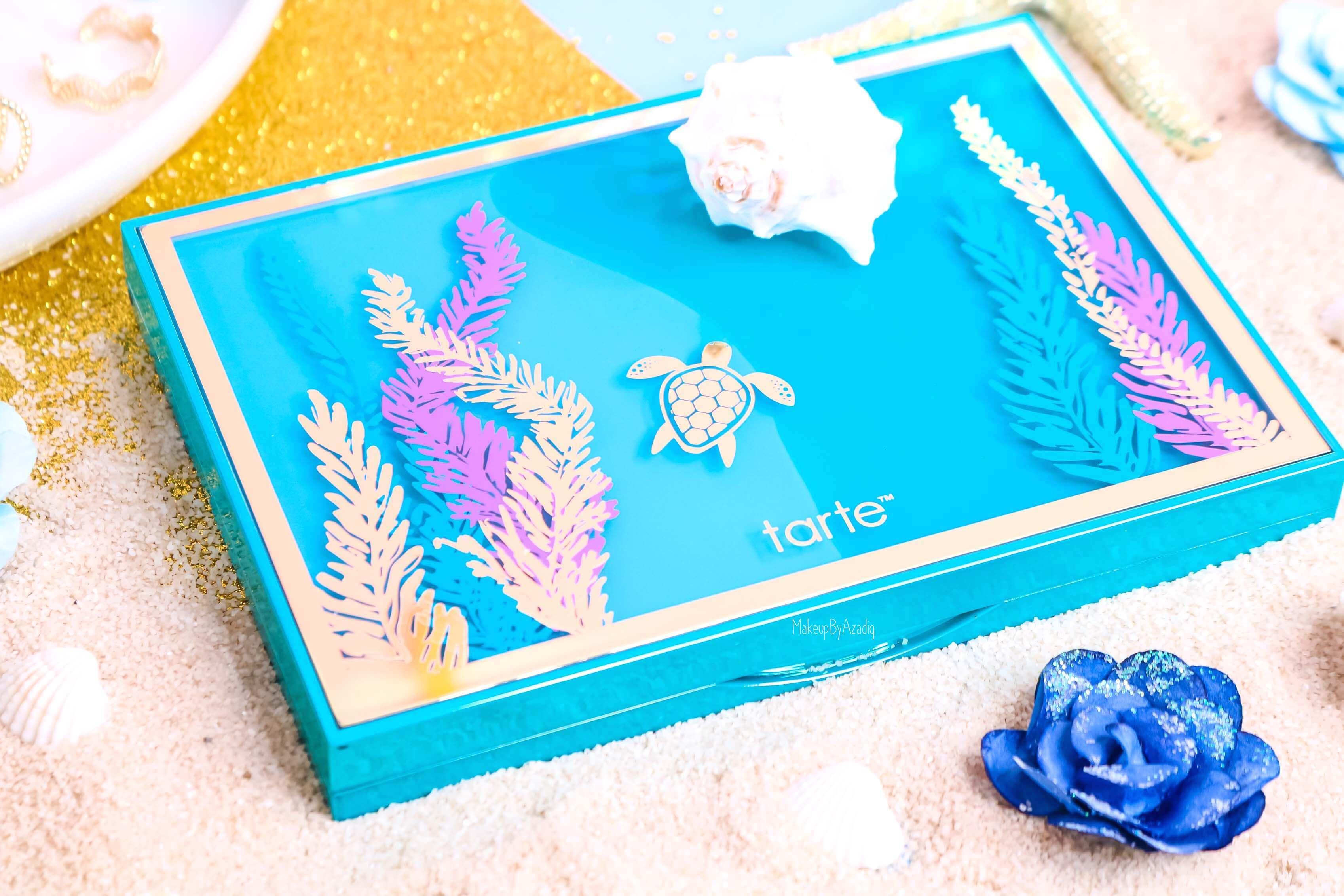 revue-palette-tarte-cosmetics-france-sephora-makeupbyazadig-swatch-prix-avis-rainforest-of-the-sea-eyes