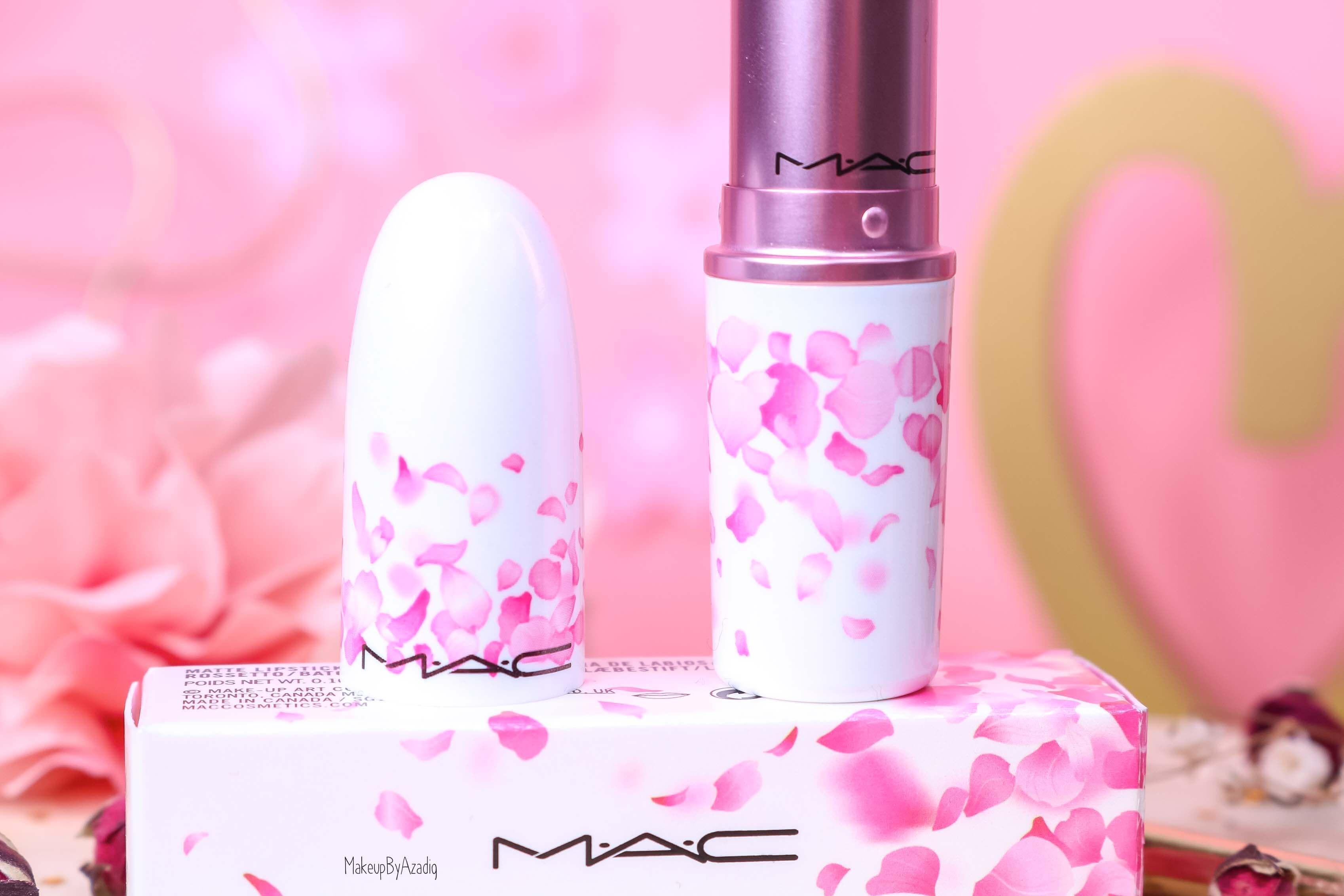revue-rouge-a-levres-mac-cosmetics-collection-boom-boom-bloom-printemps-makeupbyazadig-avis-swatch-prix-france-cerisier