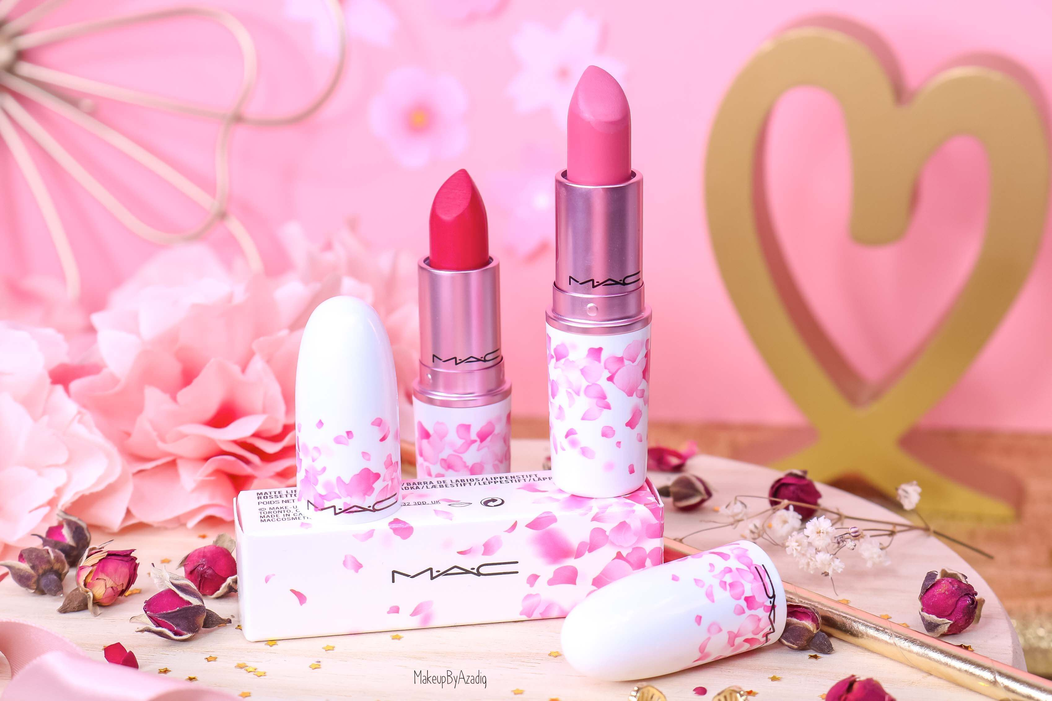 revue-rouge-a-levres-mac-cosmetics-collection-boom-boom-bloom-printemps-makeupbyazadig-avis-swatch-prix-france-japon