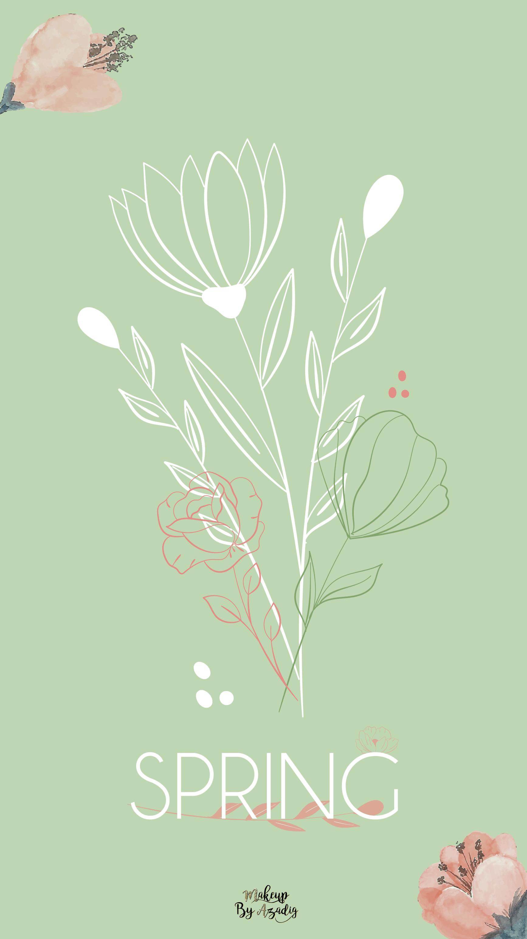 fond-decran-printemps-fleurs-bouquet-spring-girly-samsung-iphone-6-7-8-makeupbyazadig-tendance
