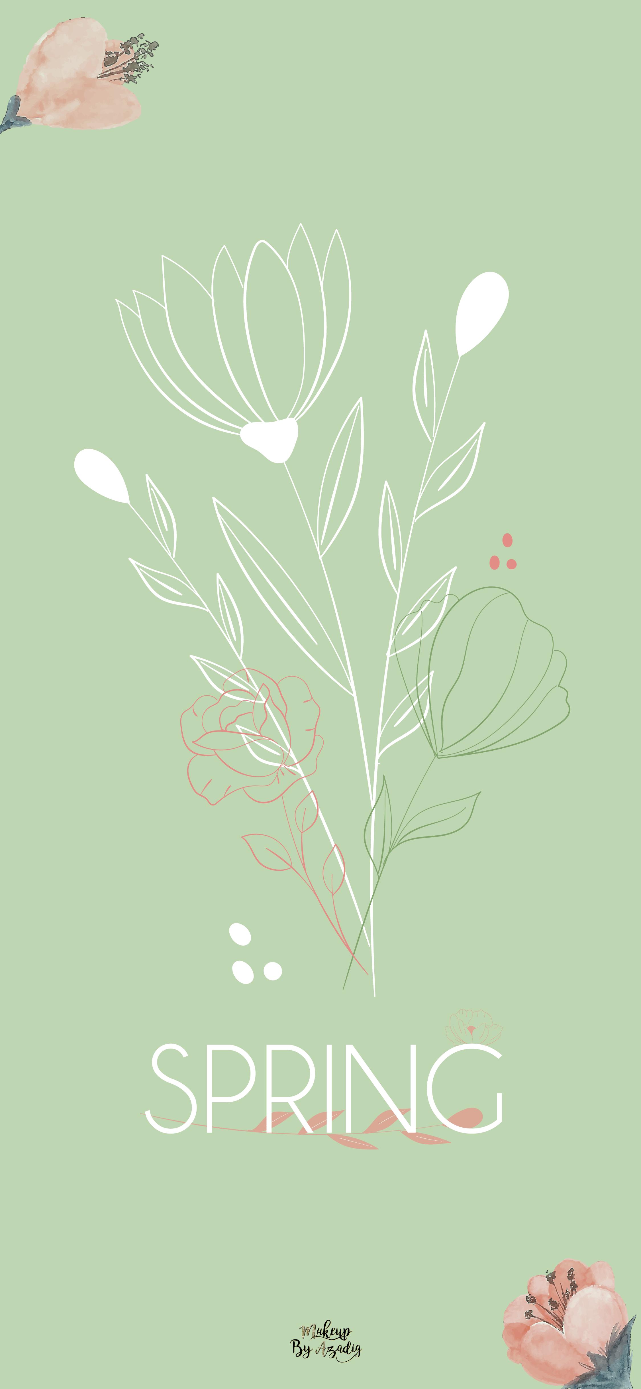 fond-decran-wallpaper-printemps-fleurs-flower-spring-girly-iphone-X-makeupbyazadig-tendance