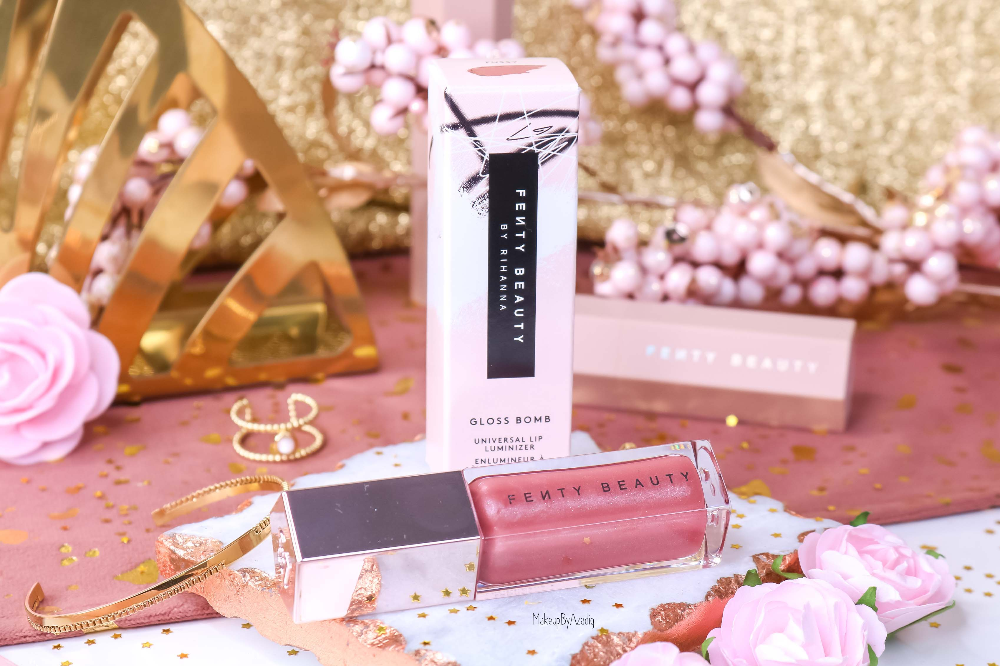 revue-gloss-levres-elumineur-universel-gloss-bomb-fussy-fenty-beauty-paris-rihanna-makeupbyazadig-lip-avis-prix-swatch-universal