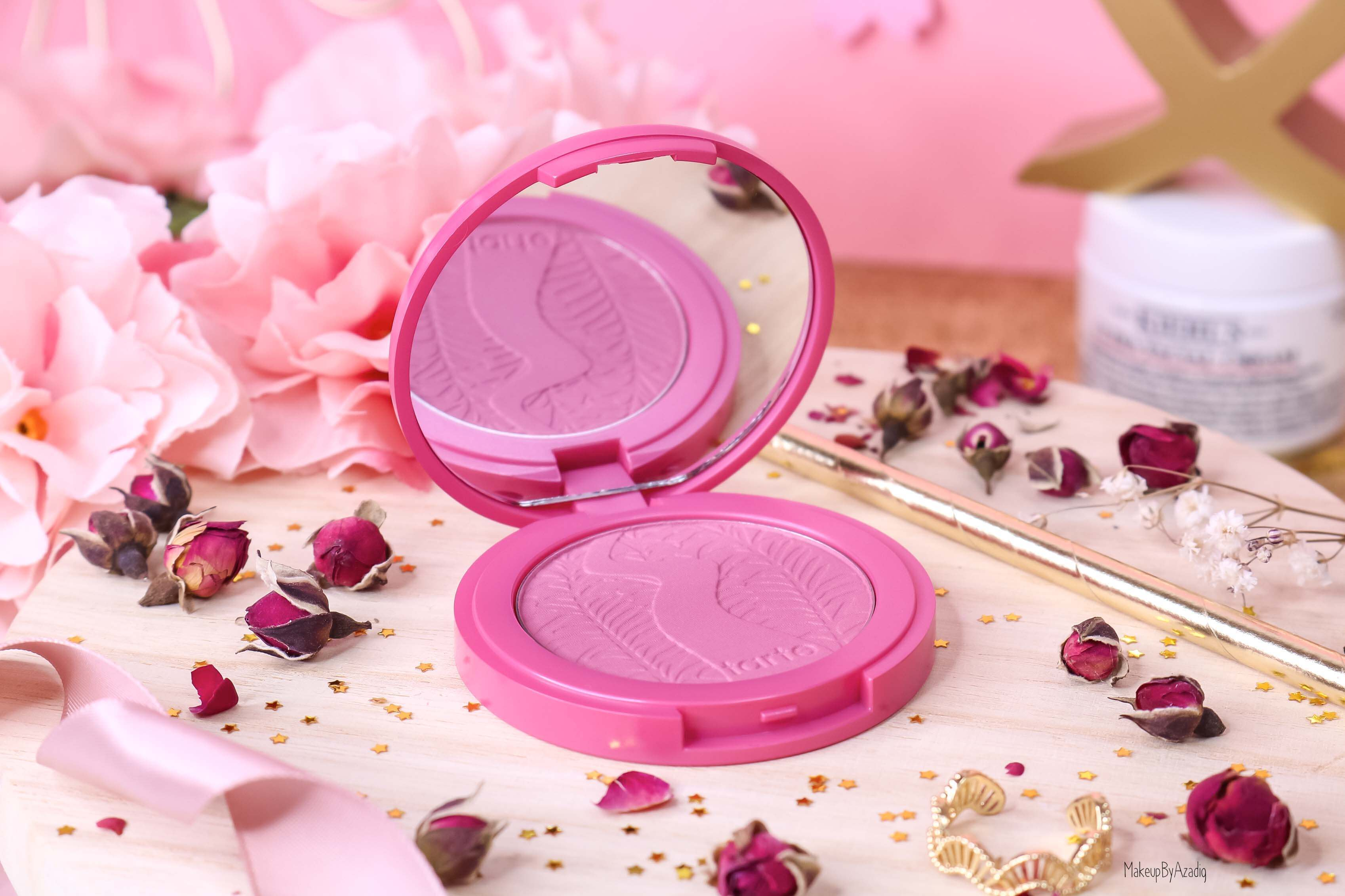revue-blush-amazonian-clay-tarte-cosmetics-makeupbyazadig-sephora-france-blushing-bride-swatch-avis-prix-miniature