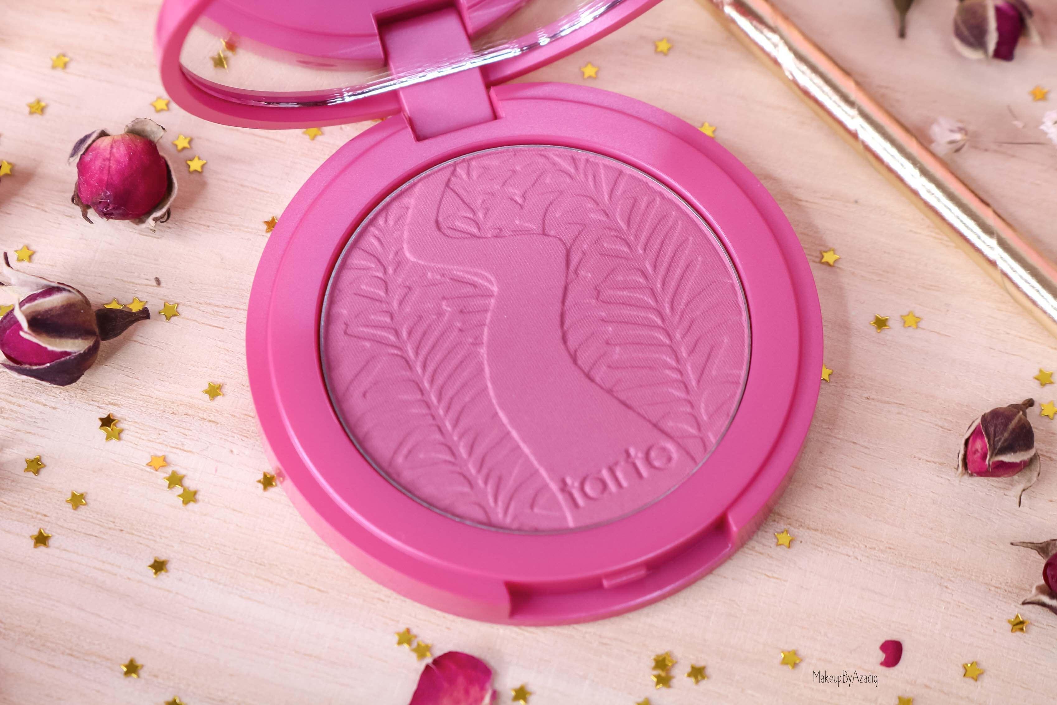 revue-blush-amazonian-clay-tarte-cosmetics-makeupbyazadig-sephora-france-blushing-bride-swatch-avis-prix-poudre