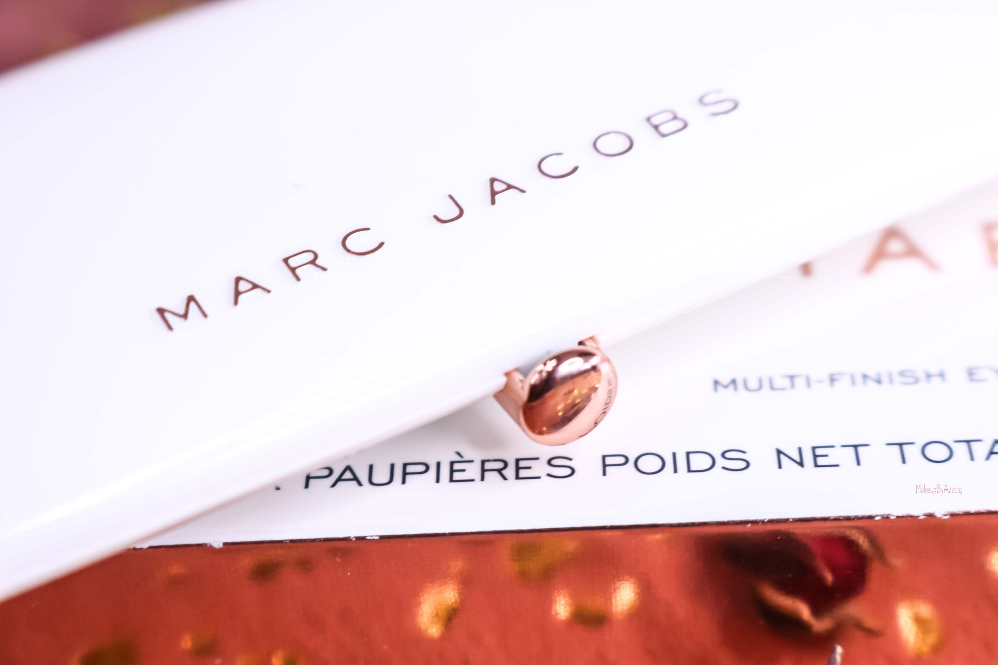 revue-palette-fards-paupieres-eye-conic-fantascene-marc-jacobs-gold-rose-sephora-france-avis-prix-swatch-tenue-makeupbyazadig-chic