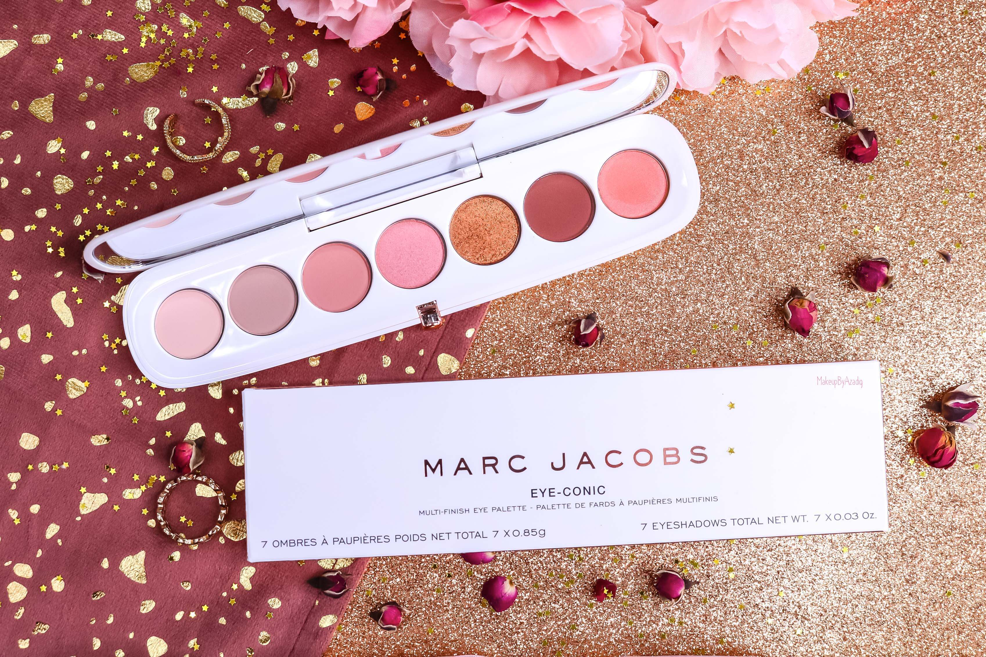 revue-palette-fards-paupieres-eye-conic-fantascene-marc-jacobs-gold-rose-sephora-france-avis-prix-swatch-tenue-makeupbyazadig-miniature