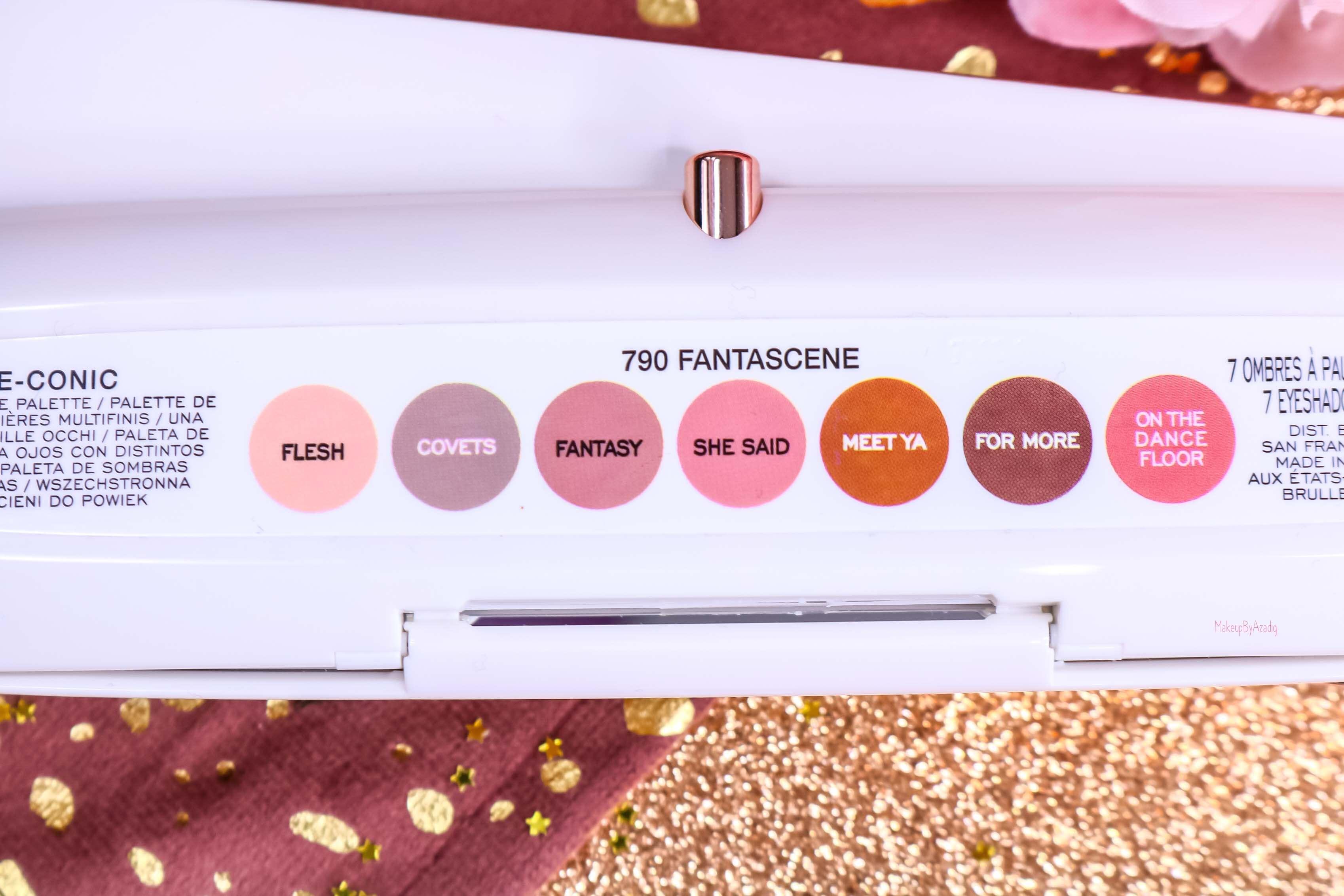revue-palette-fards-paupieres-eye-conic-fantascene-marc-jacobs-gold-rose-sephora-france-avis-prix-swatch-tenue-makeupbyazadig-noms