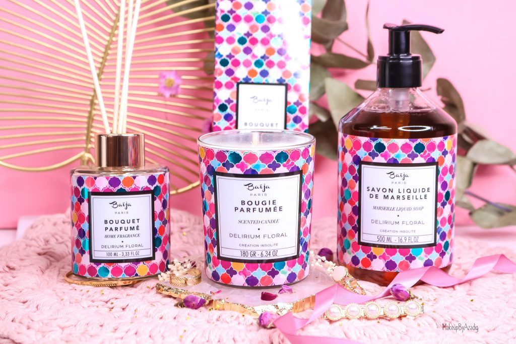 revue-collection-delirium-floral-baija-paris-corps-bougie-gommage-soin-fleurs-makeupbyazadig-avis-prix-sephora-insolite