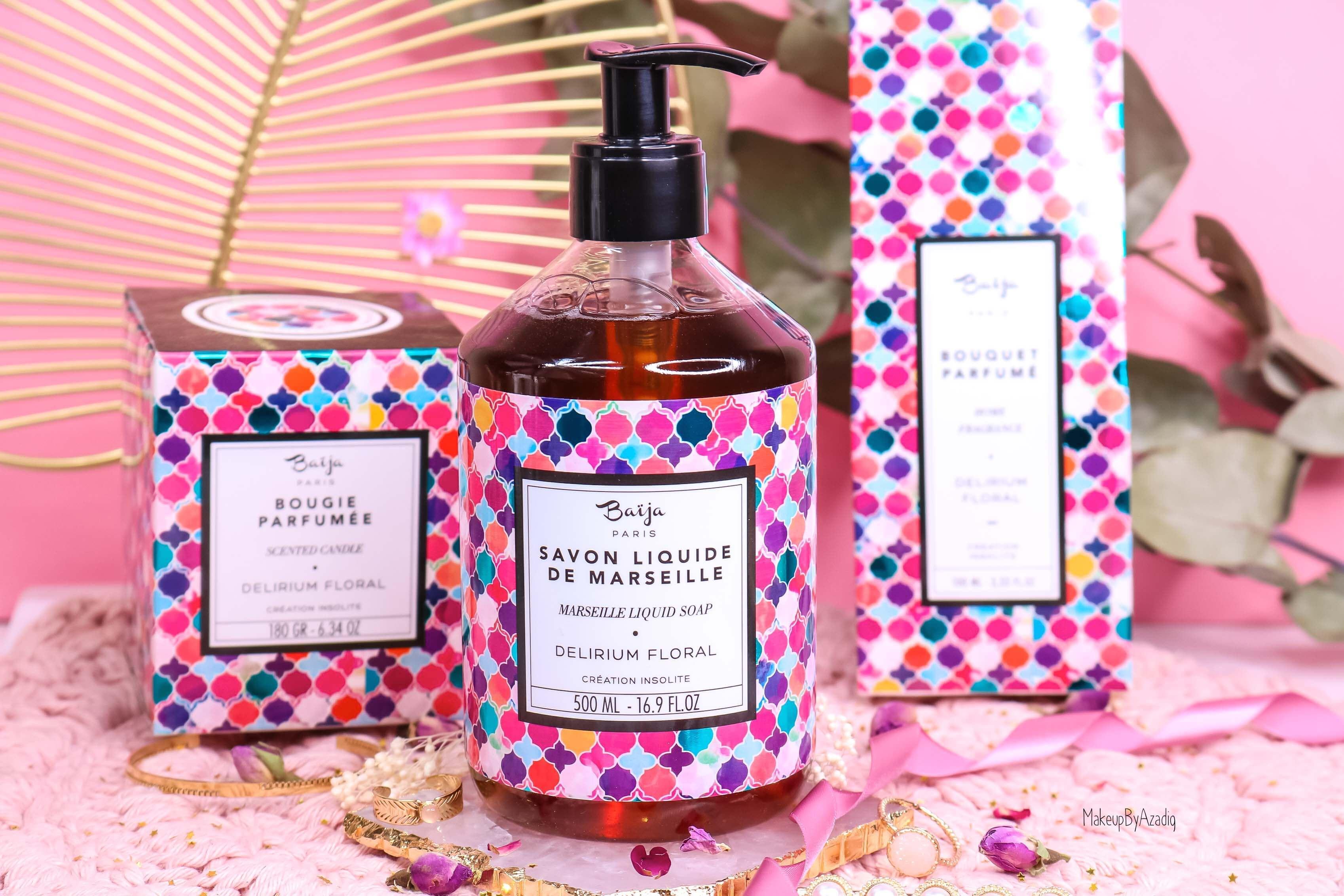 revue-collection-delirium-floral-baija-paris-corps-bougie-gommage-soin-fleurs-makeupbyazadig-avis-prix-sephora-savon-marseille