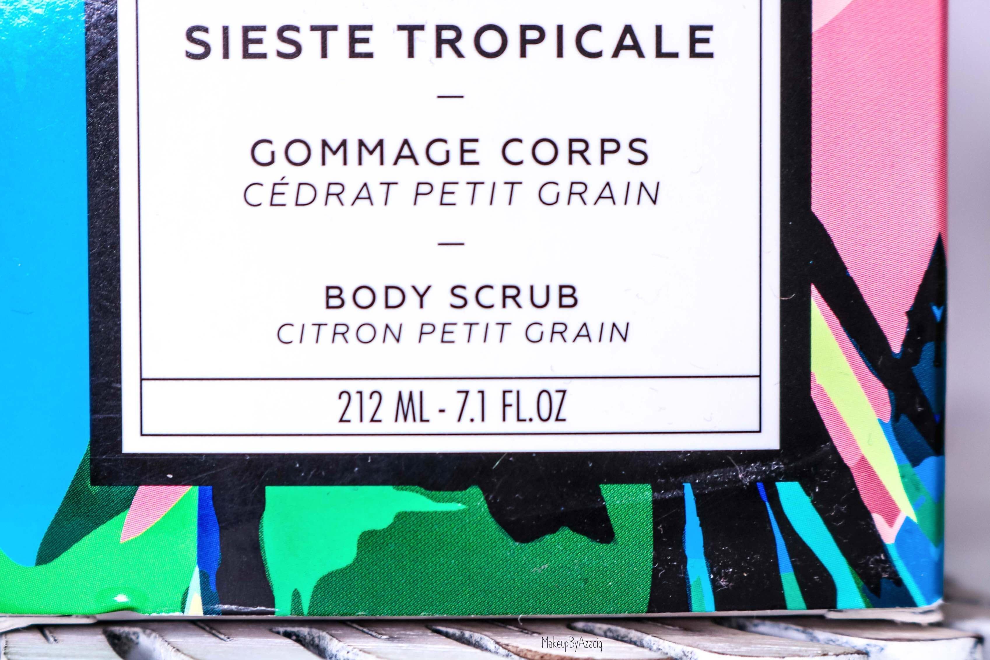 revue-collection-sieste-tropicale-baija--cedrat-paris-corps-bougie-gommage-soin-citron-makeupbyazadig-avis-prix-sephora-scrub