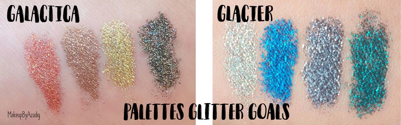 revue-palette-glitter-goals-nyx-professional-makeup-festival-coachella-avis-prix-paillette-makeupbyazadig-galactica-glacier-swatch