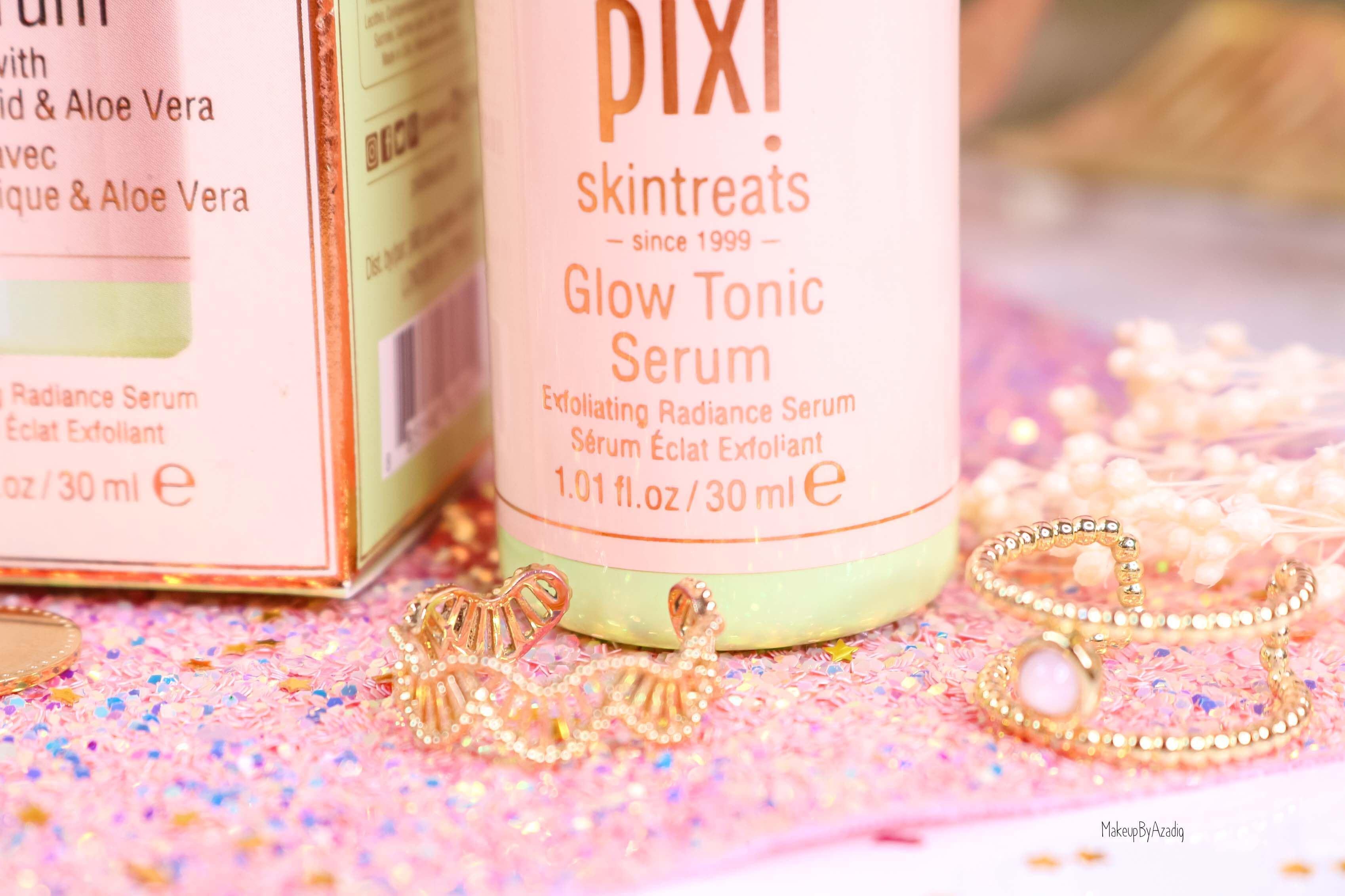 revue-routine-soin-skincare-pixi-beauty-visage-glow-tonic-serum-phenomenal-gel-aloe-vera-makeupbyazadig-sephora-avis-prix-eclat