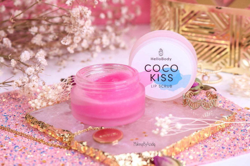 revue-baume-gommage-levres-coco-kiss-hellobody-avis-prix-swatch-makeupbyazadig-efficacite-lip-scrub-miniature