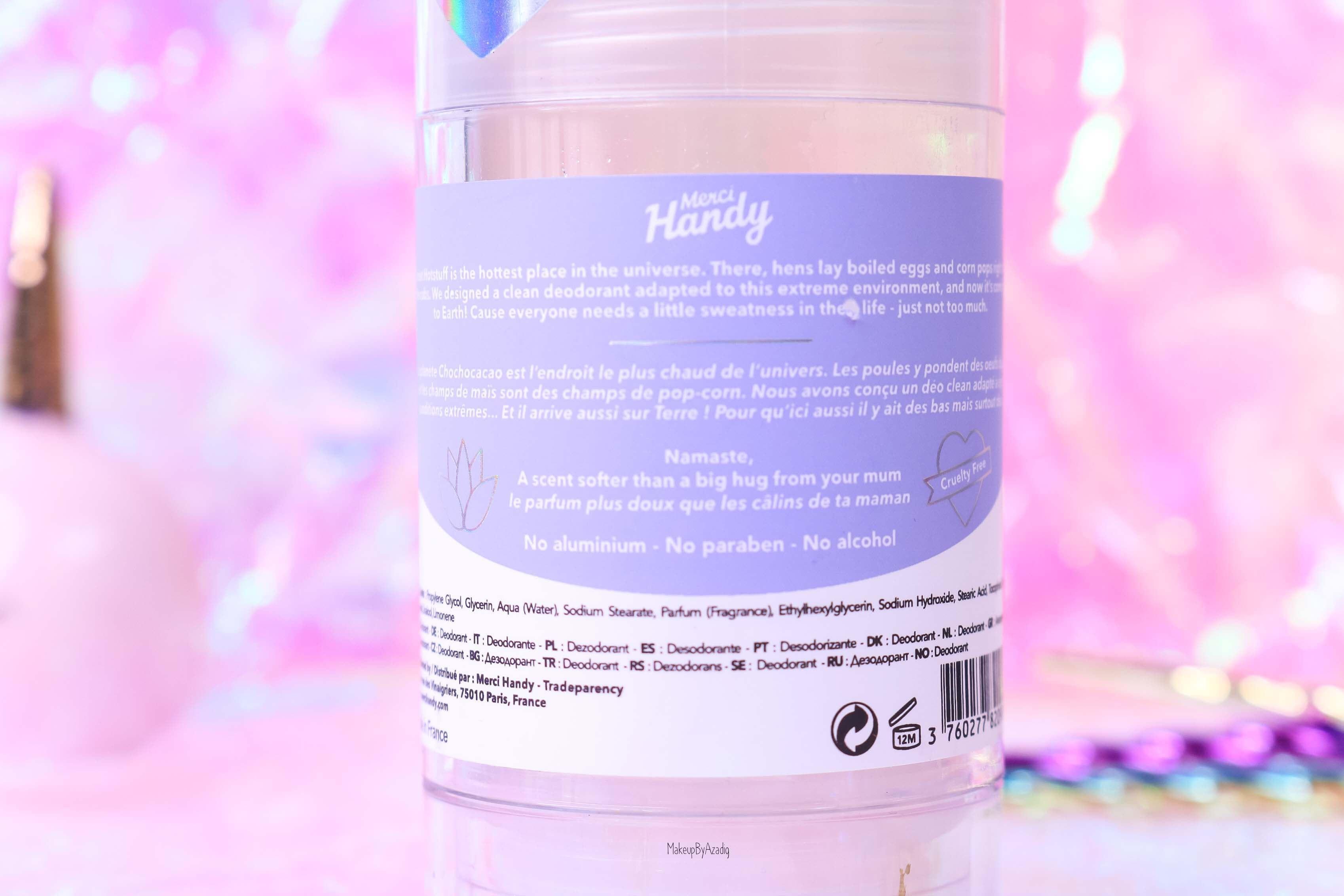 revue-clean-deodorant-merci-handy-namaste-flower-power-sans-aluminium-cruelty-free-avis-prix-makeupbyazadig-sephora-efficacite-violet