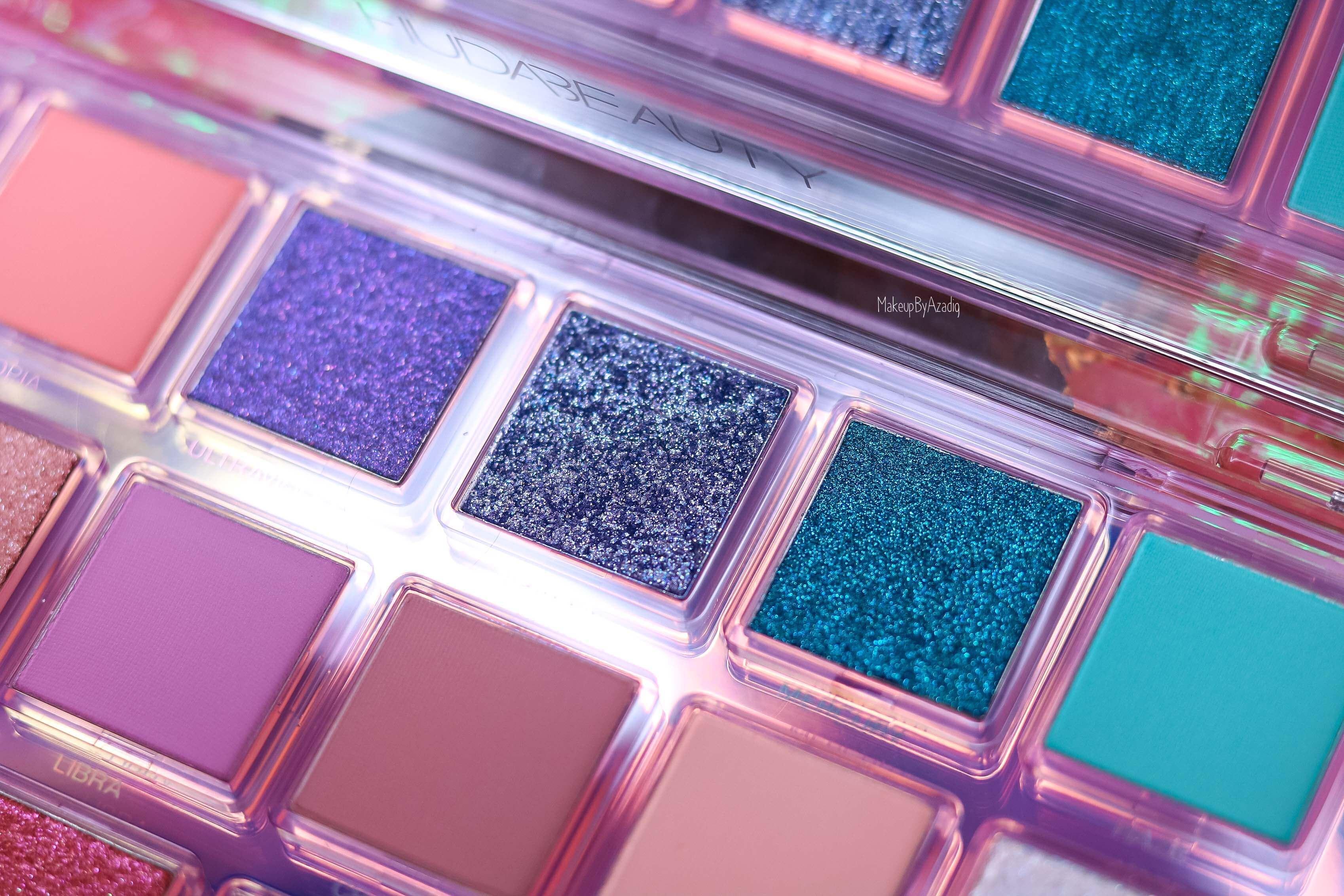 revue-palette-mercury-retrograde-huda-beauty-sephora-france-makeupbyazadig-avis-prix-swatch-astrologie-zoom-blue
