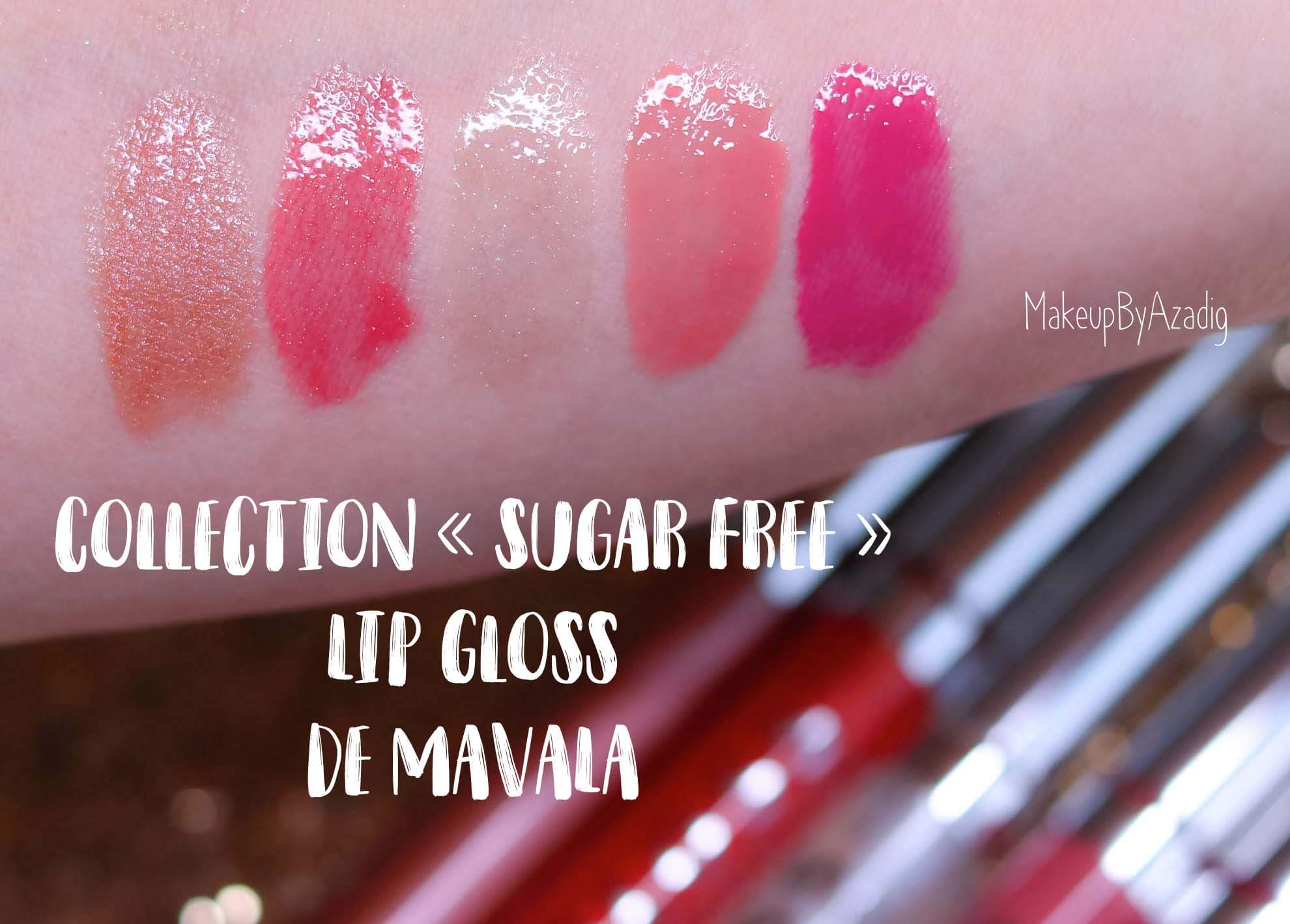 revue-lip-gloss-mavala-sugar-free-collection-meilleur-gloss-levres-lipgloss-rose-rouge-brillant-makeupbyazadig-avis-prix-swatch-swatches
