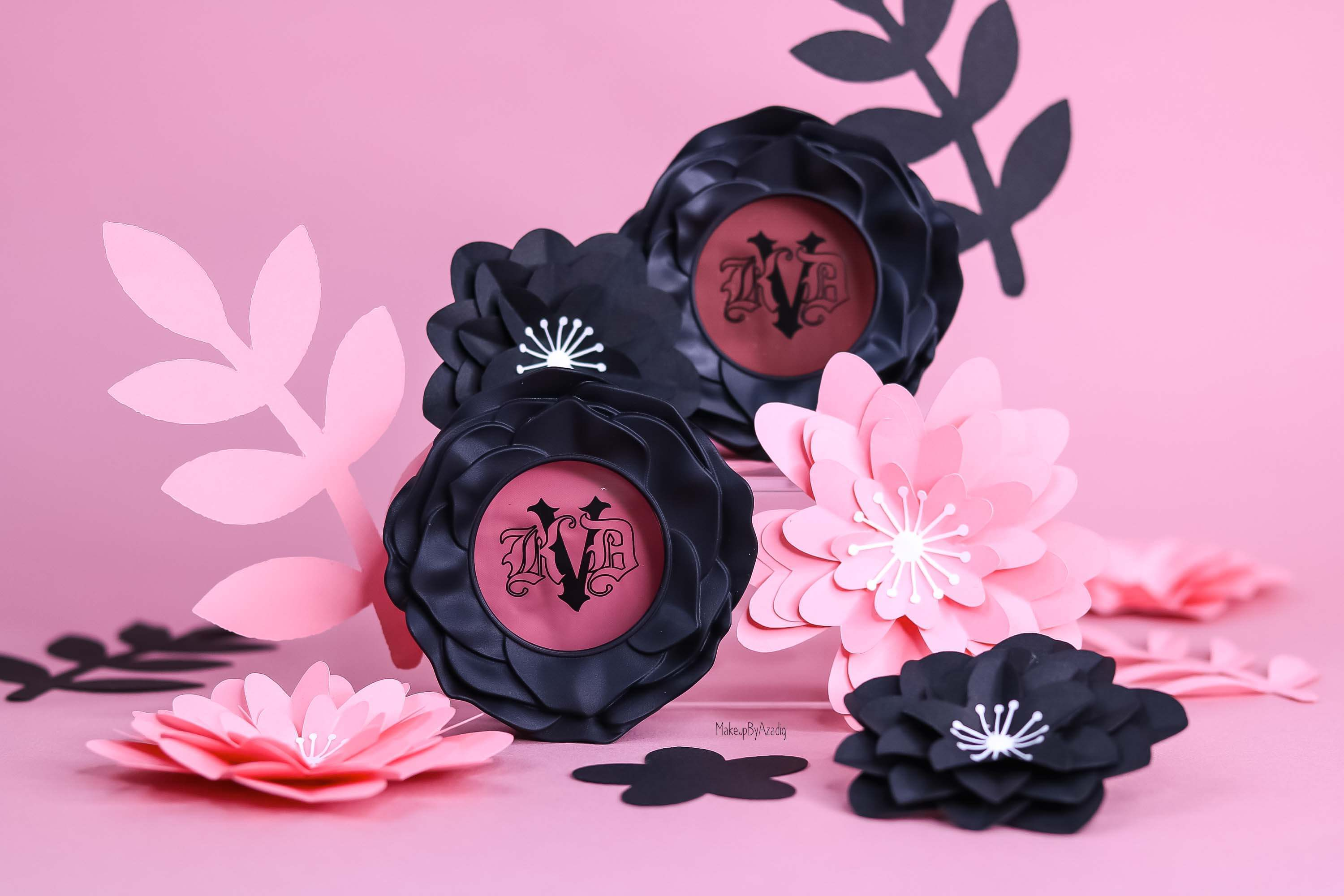 Les Blushs « Everlasting blush » de KVD VEGAN BEAUTY