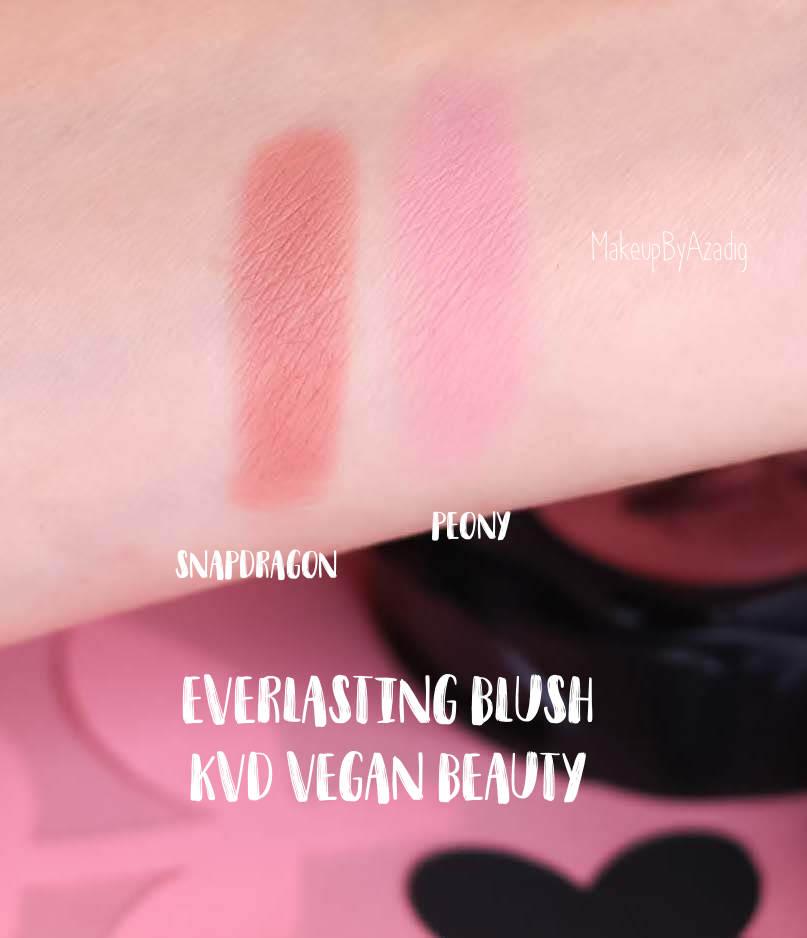 revue-blush-katvond-kvd-vegan-beauty-everlasting-blush-sephora-makeupbyazadig-avis-prix-swatch-peony-foxglove-rosebud-snapdragon-swatches