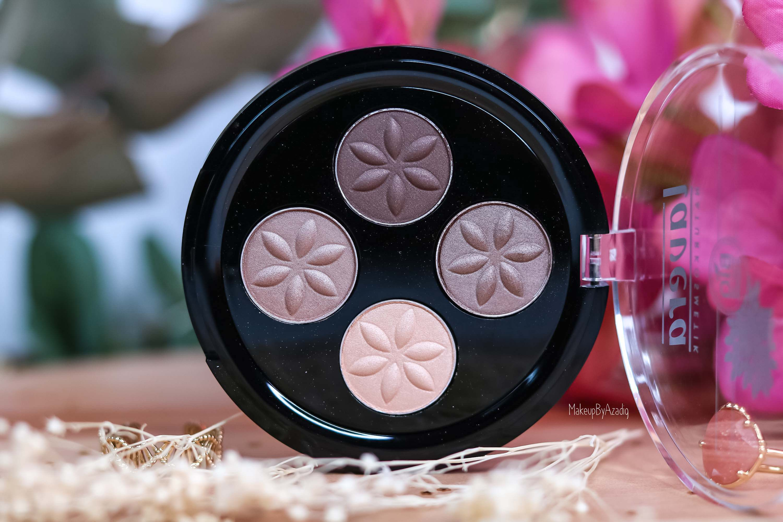 revue-maquillage-bio-naturel-certifie-vegan-lavera-makeupbyazadig-avis-prix-swatch-mascara-rouge-levres-palette-blush-taupe