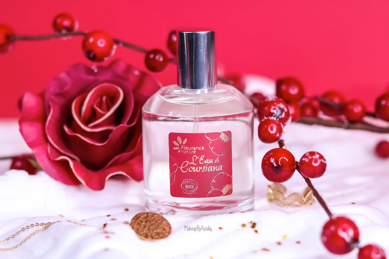 revue-parfum-bio-eau-coursiana-fleurance-nature-organic-cosmetic-makeupbyazadig-avis-prix-promo-red