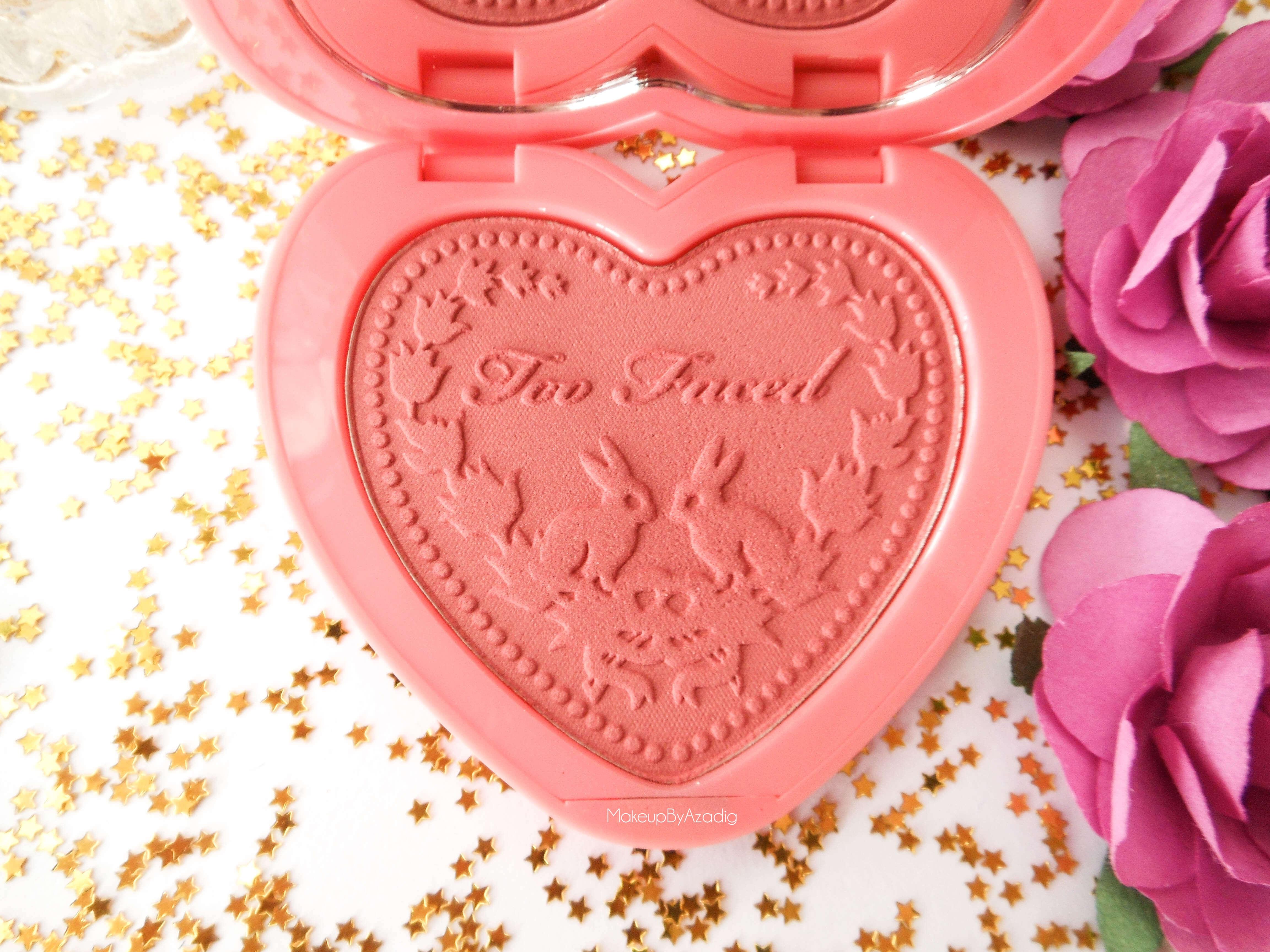 makeupbyazadig-love-flush-blush-too-faced-love-hangover-blog-influencer-sephora-france-corail