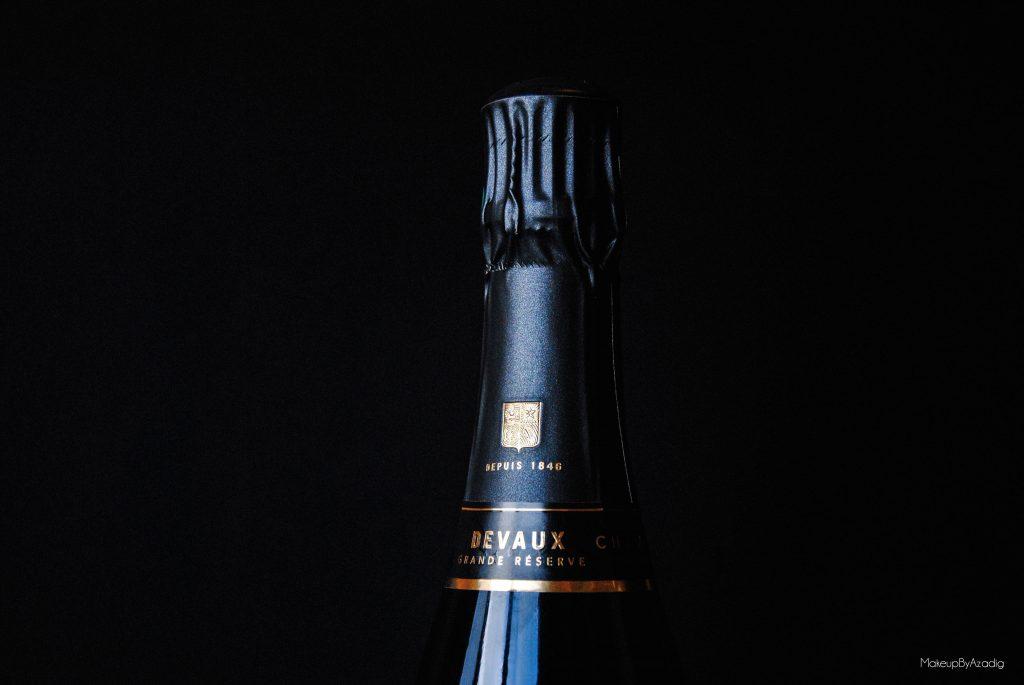 champagne devaux - les classiques - champagne brut - troyes - makeupbyazadig - zoom