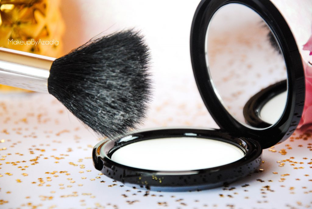 make up for ever - poudre compacte hd - poudre matifiante - sephora - makeupbyazadig - blanche