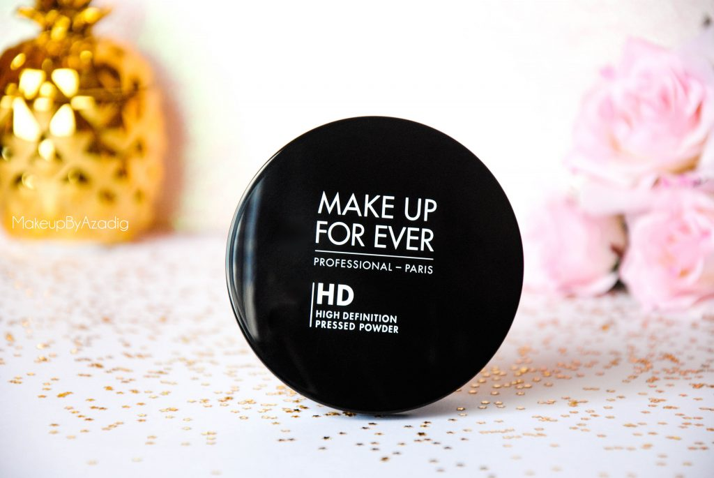 make up for ever - poudre compacte hd - poudre matifiante - sephora - makeupbyazadig - packaging