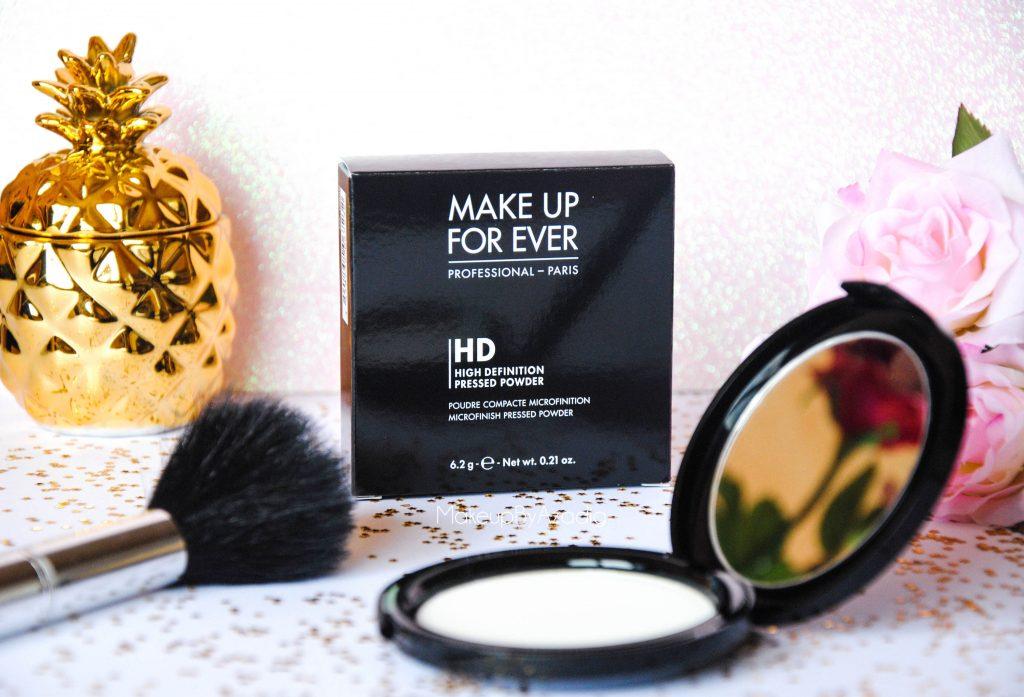 make up for ever - poudre compacte hd - poudre matifiante - sephora - makeupbyazadig - together