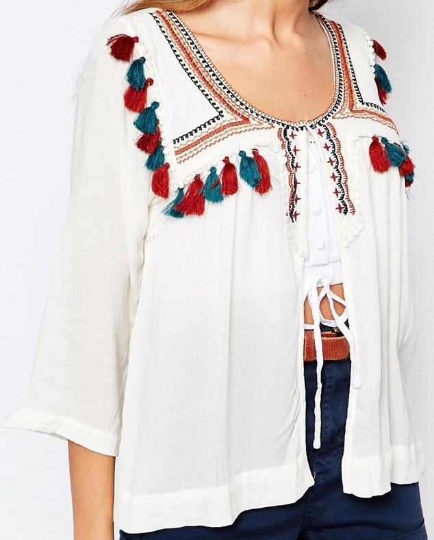 veste chemisette pull&bear asos makeupbyazadig