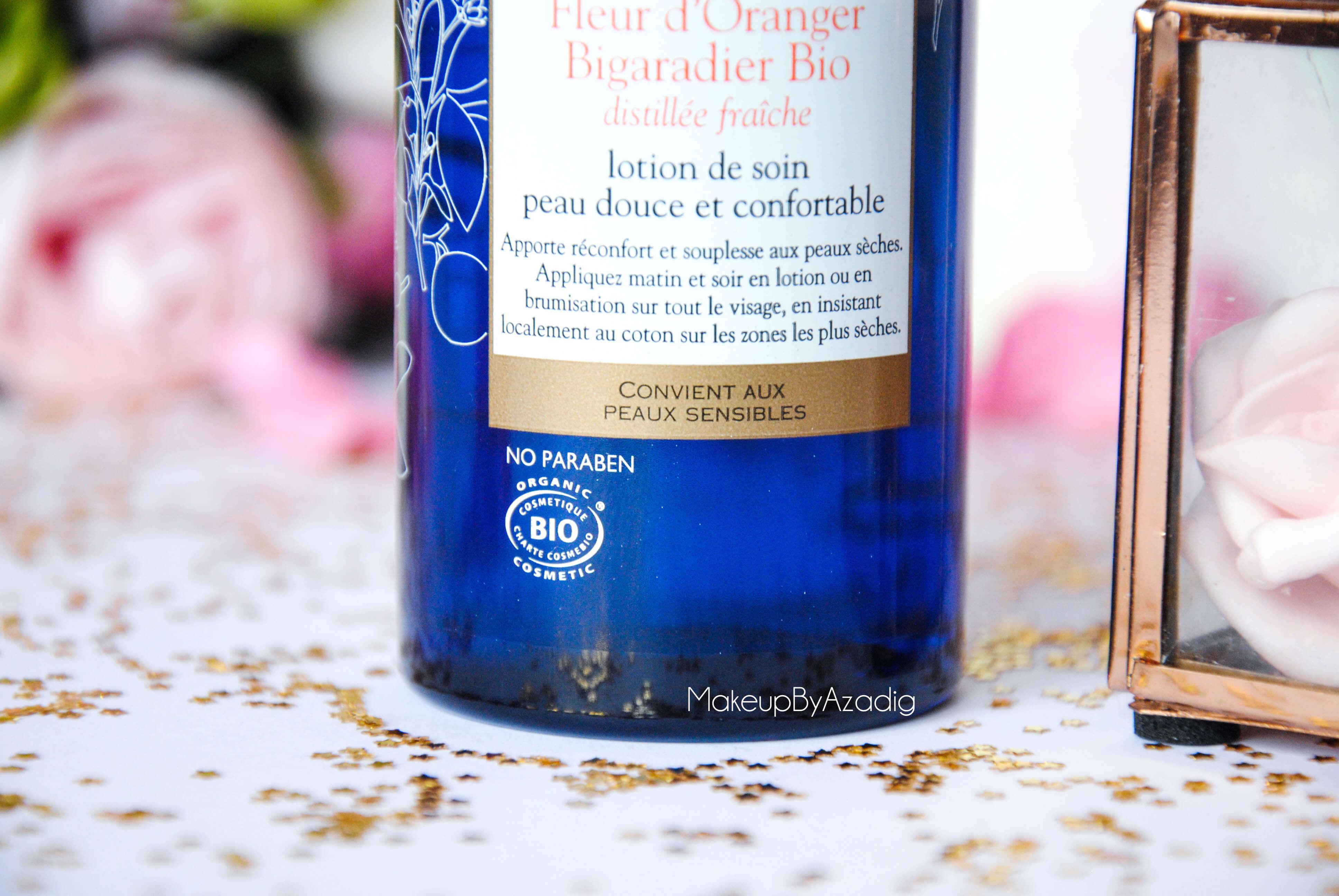 eau de beaute - caudalie - sanoflore - eau florale - produits de parapharmacie - makeupbyazadig - blog troyes -bio