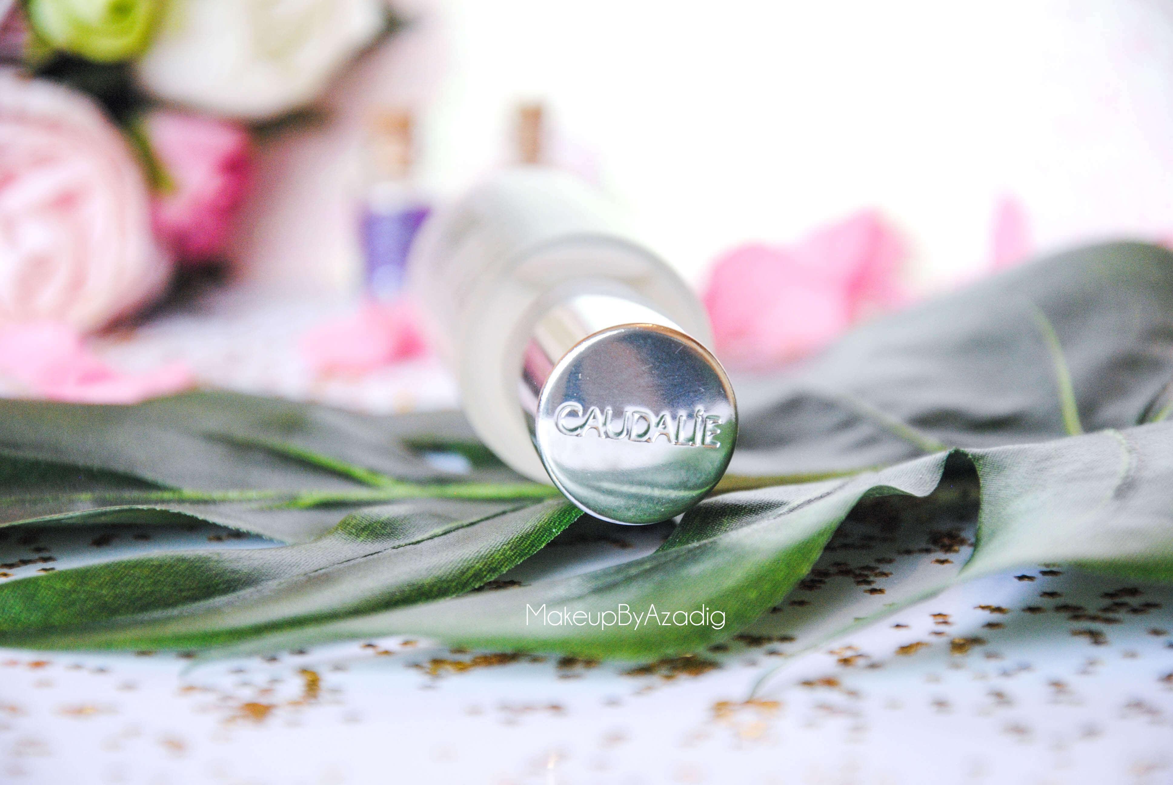 eau de beaute - caudalie - sanoflore - eau florale - produits de parapharmacie - makeupbyazadig - blog troyes - bouchon
