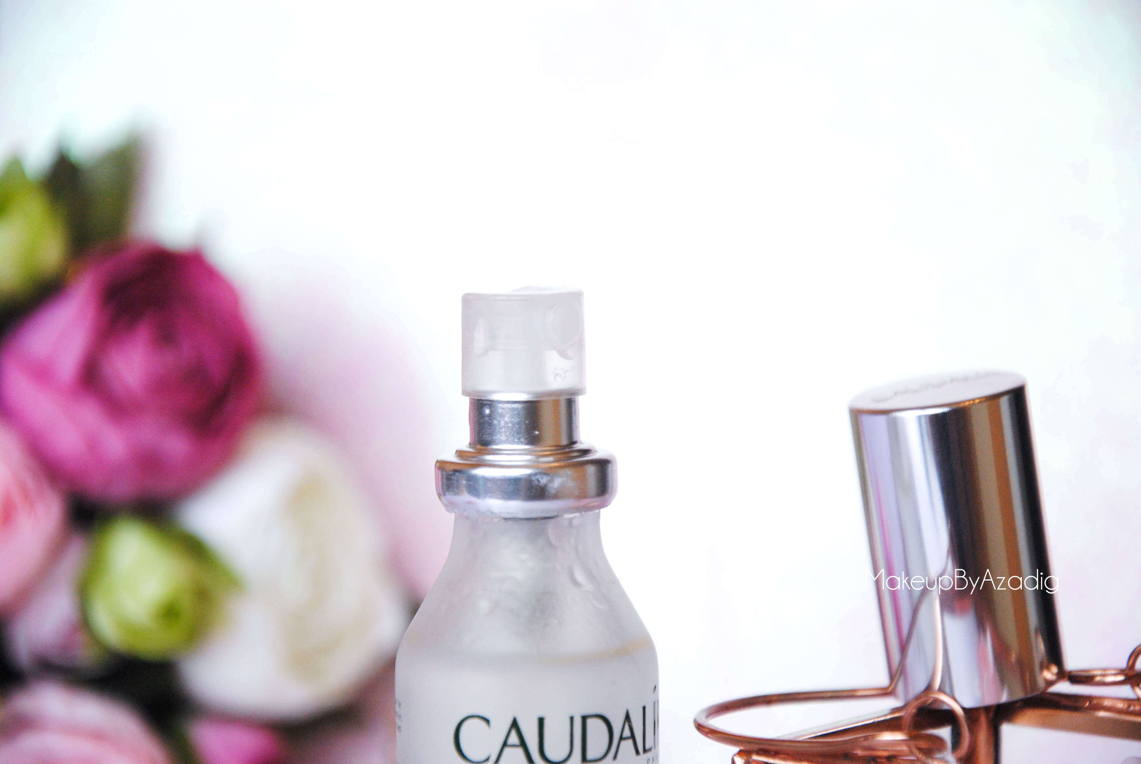 eau de beaute - caudalie - sanoflore - eau florale - produits de parapharmacie - makeupbyazadig - blog troyes - pschit