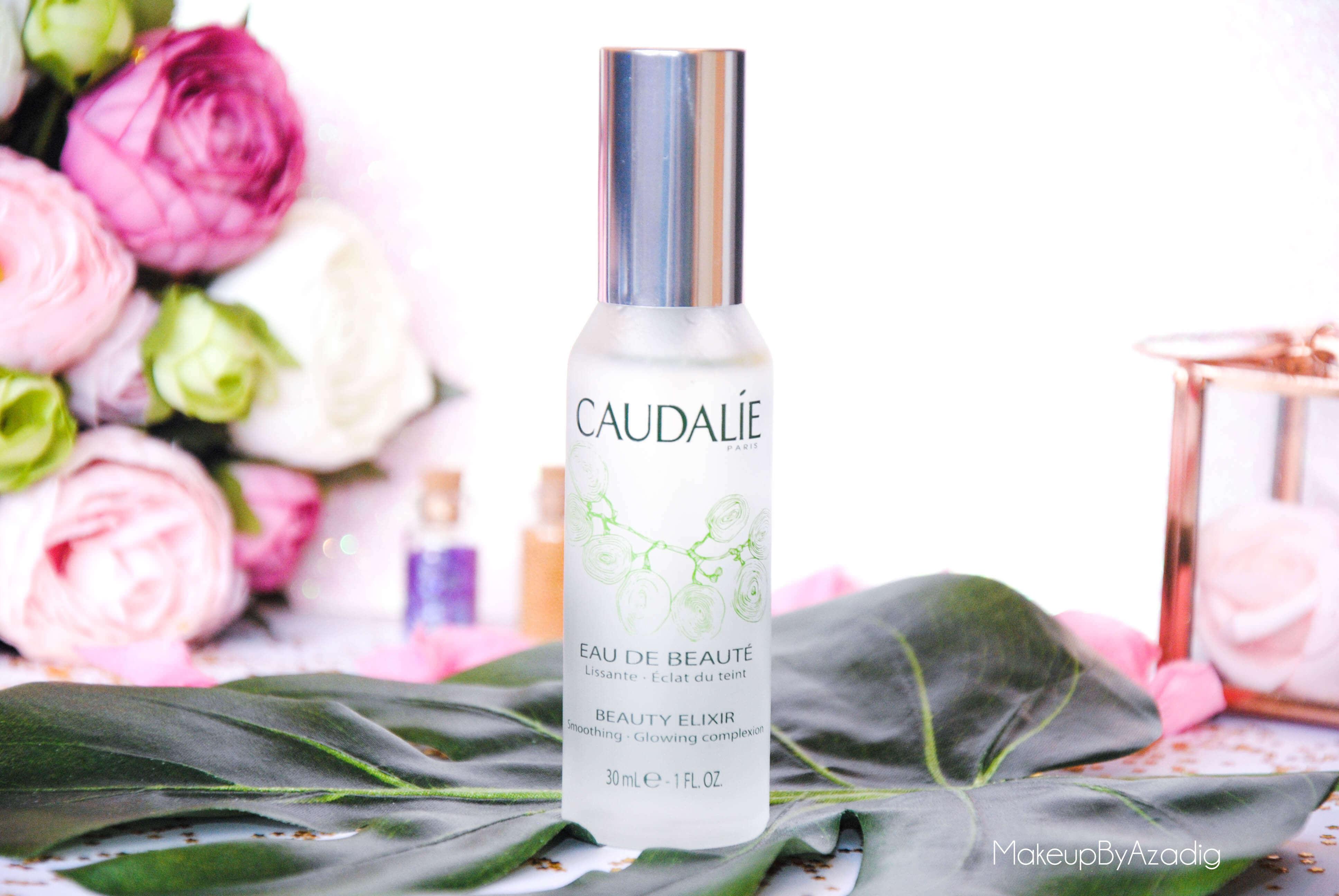 eau de beaute - caudalie - sanoflore - eau florale - produits de parapharmacie - makeupbyazadig - blog troyes - spray