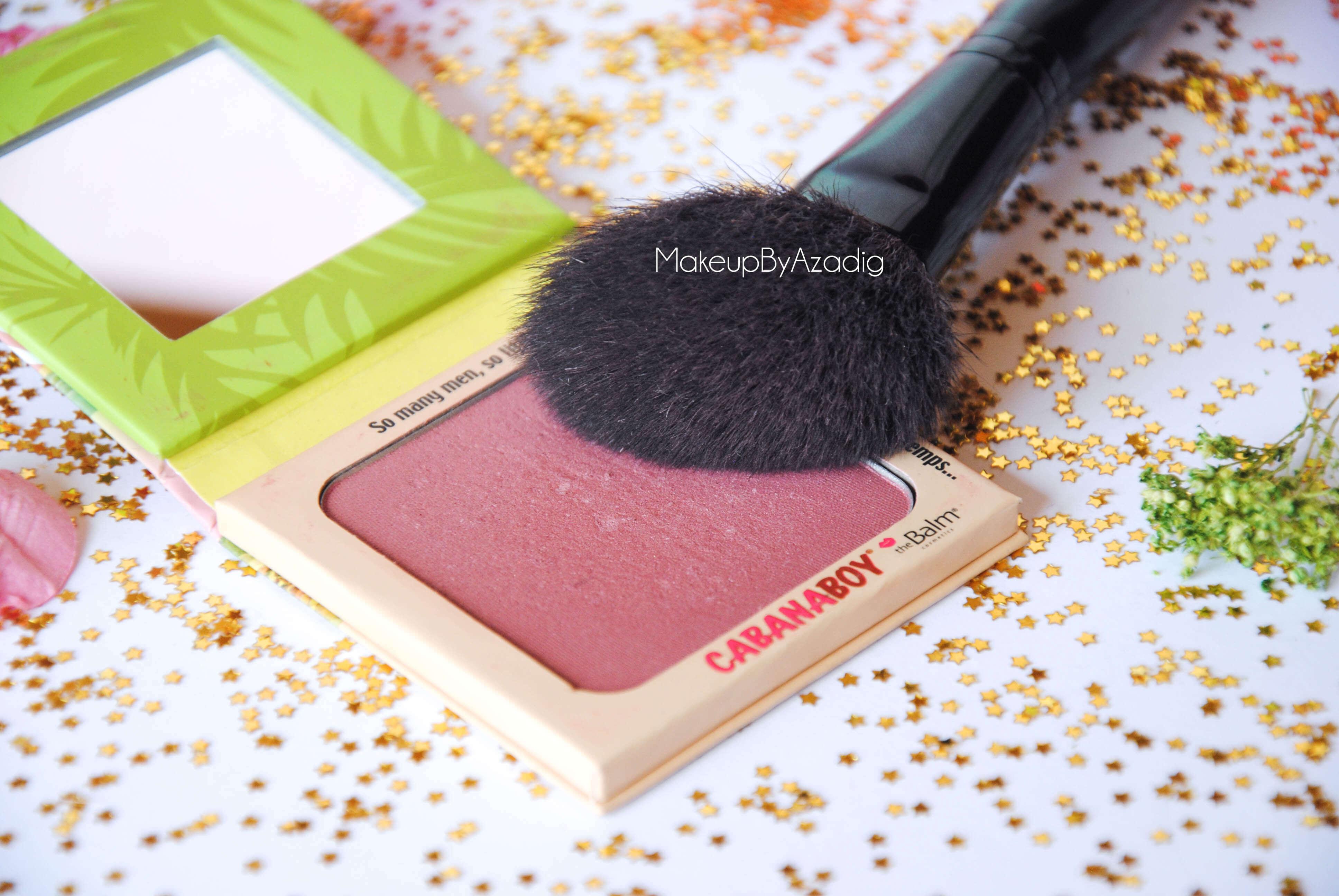 cabanaboy-the balm-blush rose fonce-monoprix-beaute privee-the beautyst-makeupbyazadig-mauve