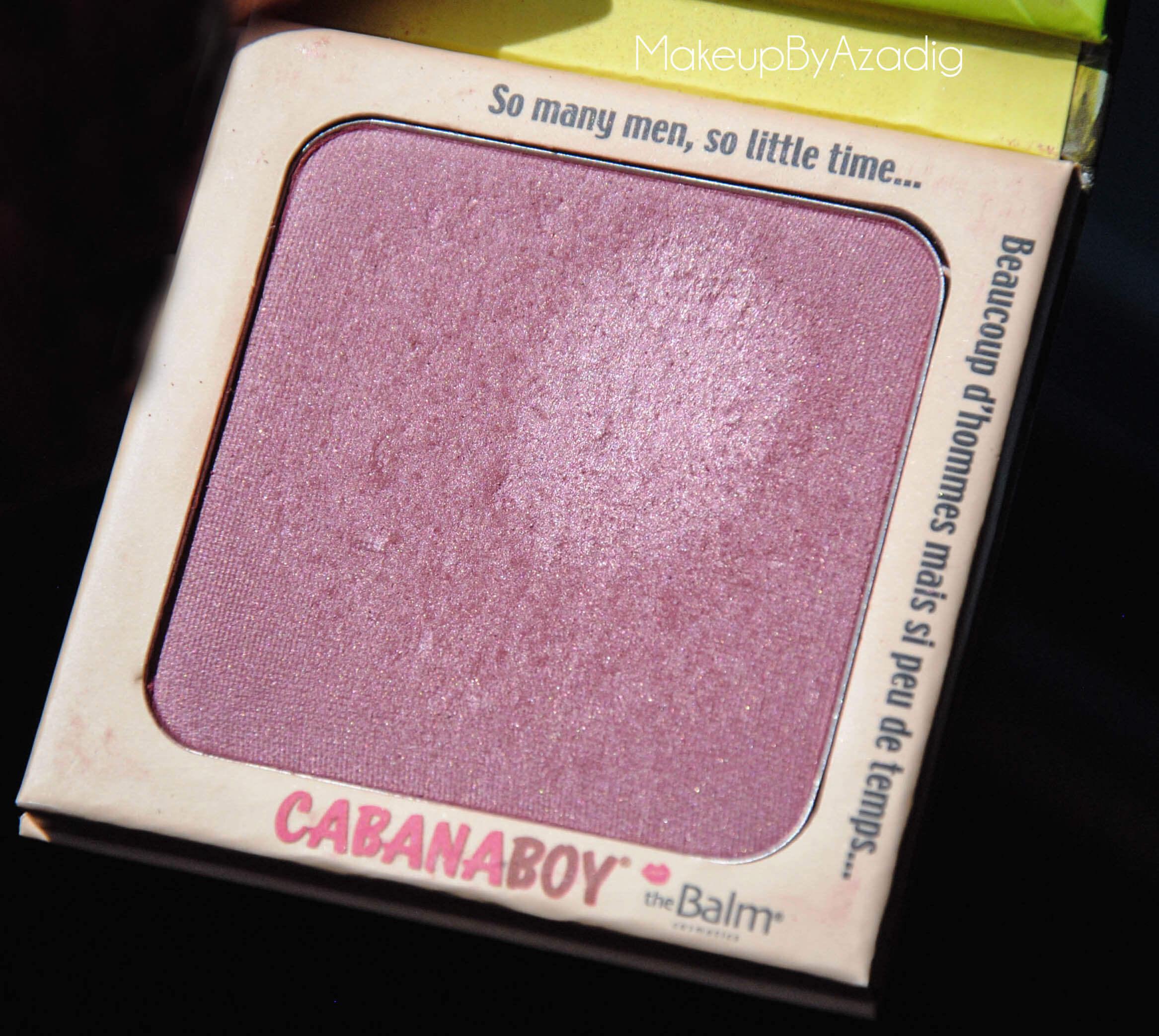 cabanaboy-the balm-blush rose fonce-monoprix-beaute privee-the beautyst-makeupbyazadig-sun
