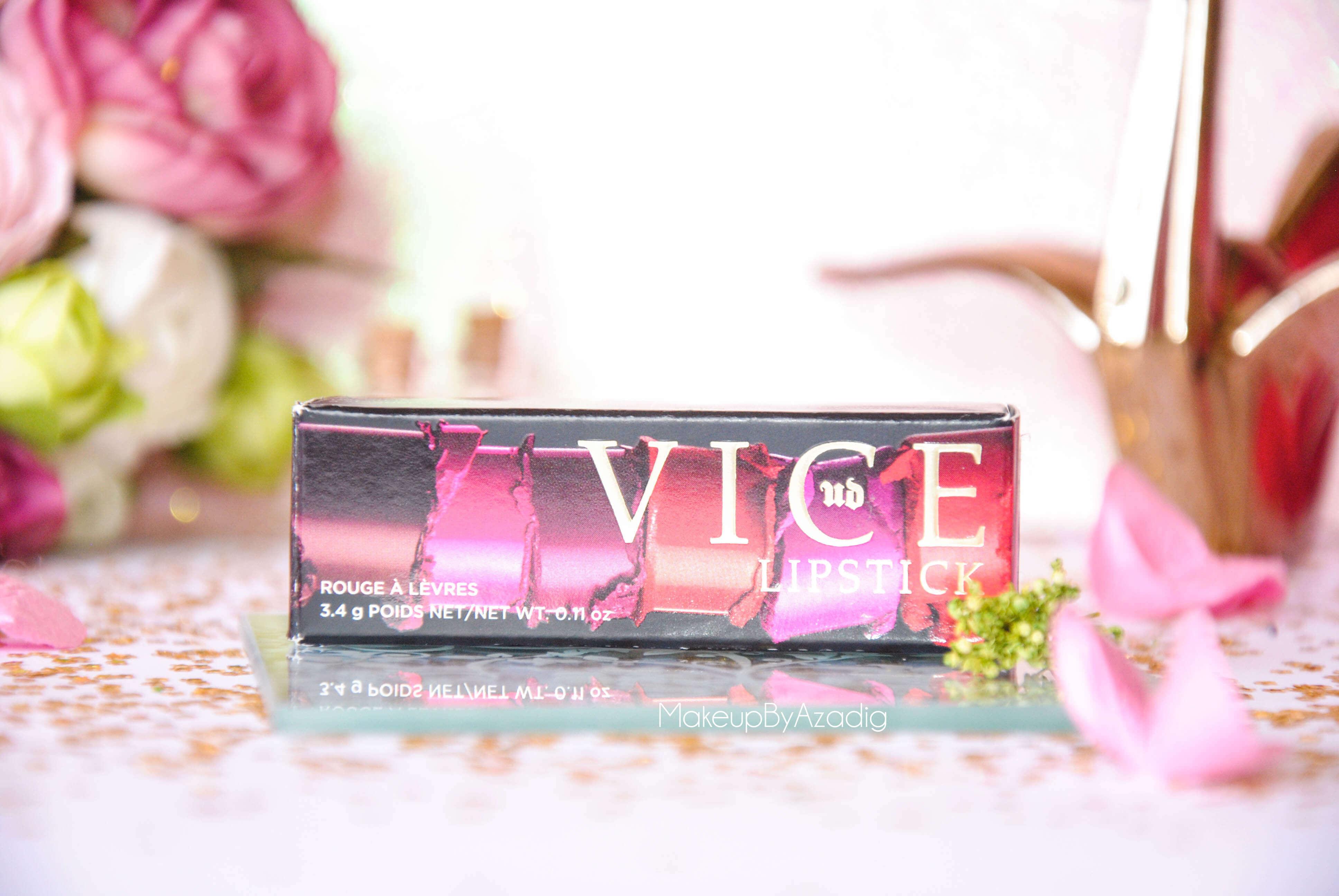 vice lipstick-urban decay-makeupbyazadig-backtalk-mauve-rouge a levres-avis-revue-swatch-review-boite