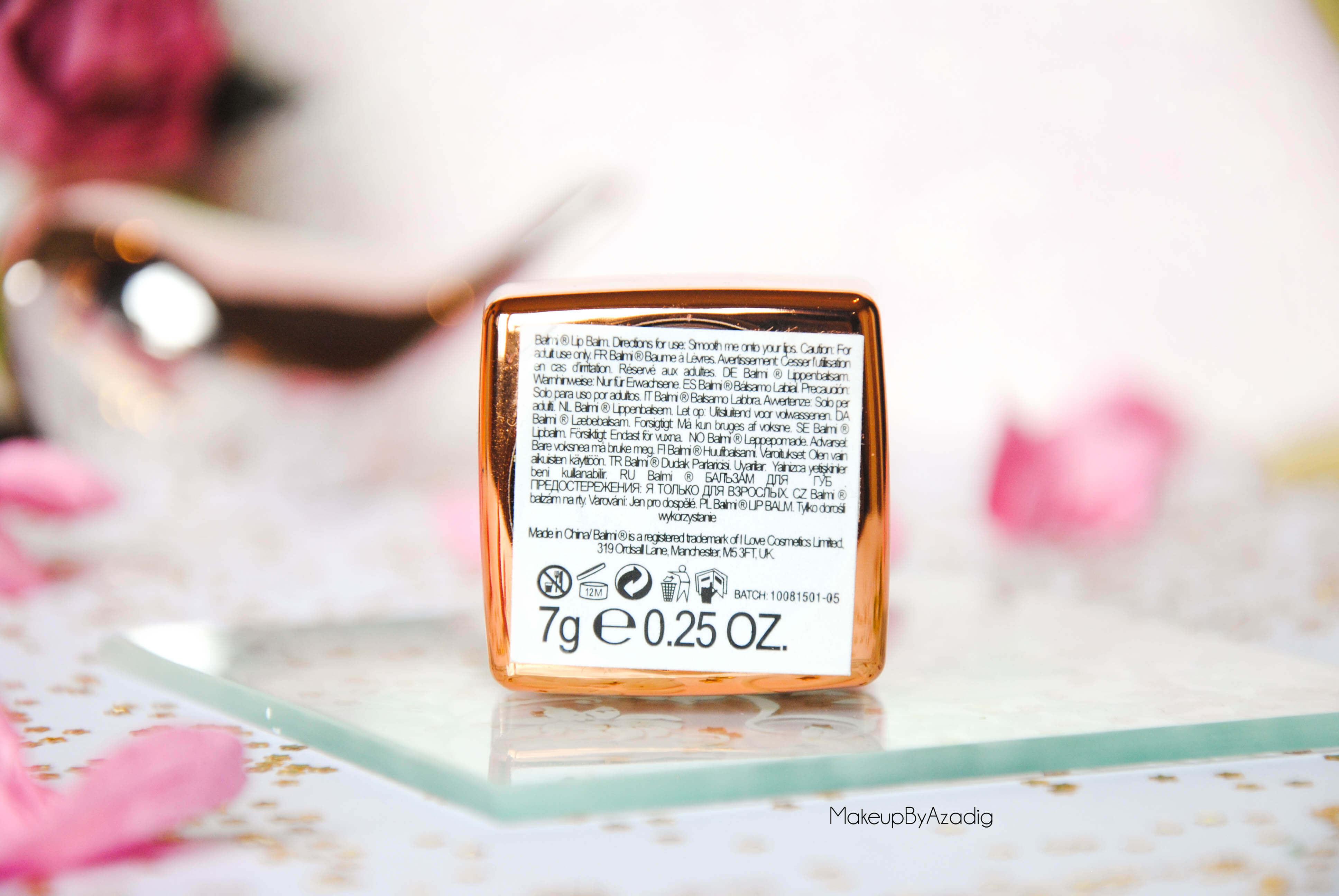 makeupbyazadig-baume-levres-balmi-roseberry-menthe-coco-fraise-beaute-privee-revue-review-troyes-dijon-description