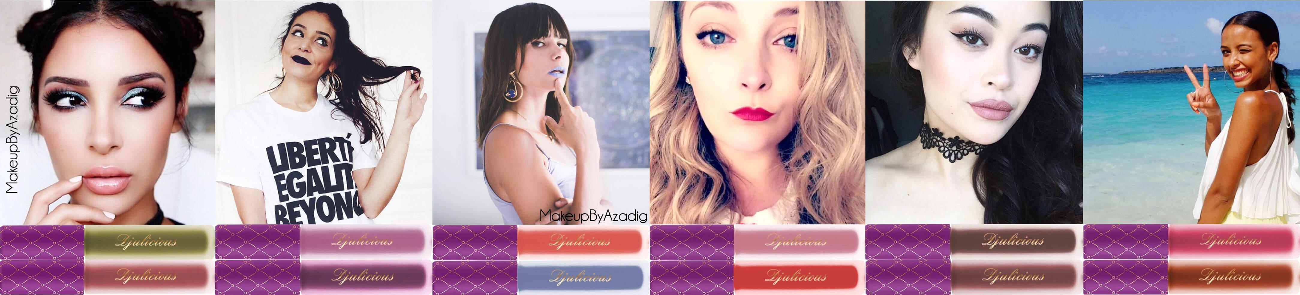 makeupbyazadig-djulicious-cosmetics-sananas-peekabooo-knoetzie-natacha-birds-julie-world-of-beauty-booolicious-sanoulicious-paris-troyes-dijon-dulcematte-revue-girlsfever-influenceurs