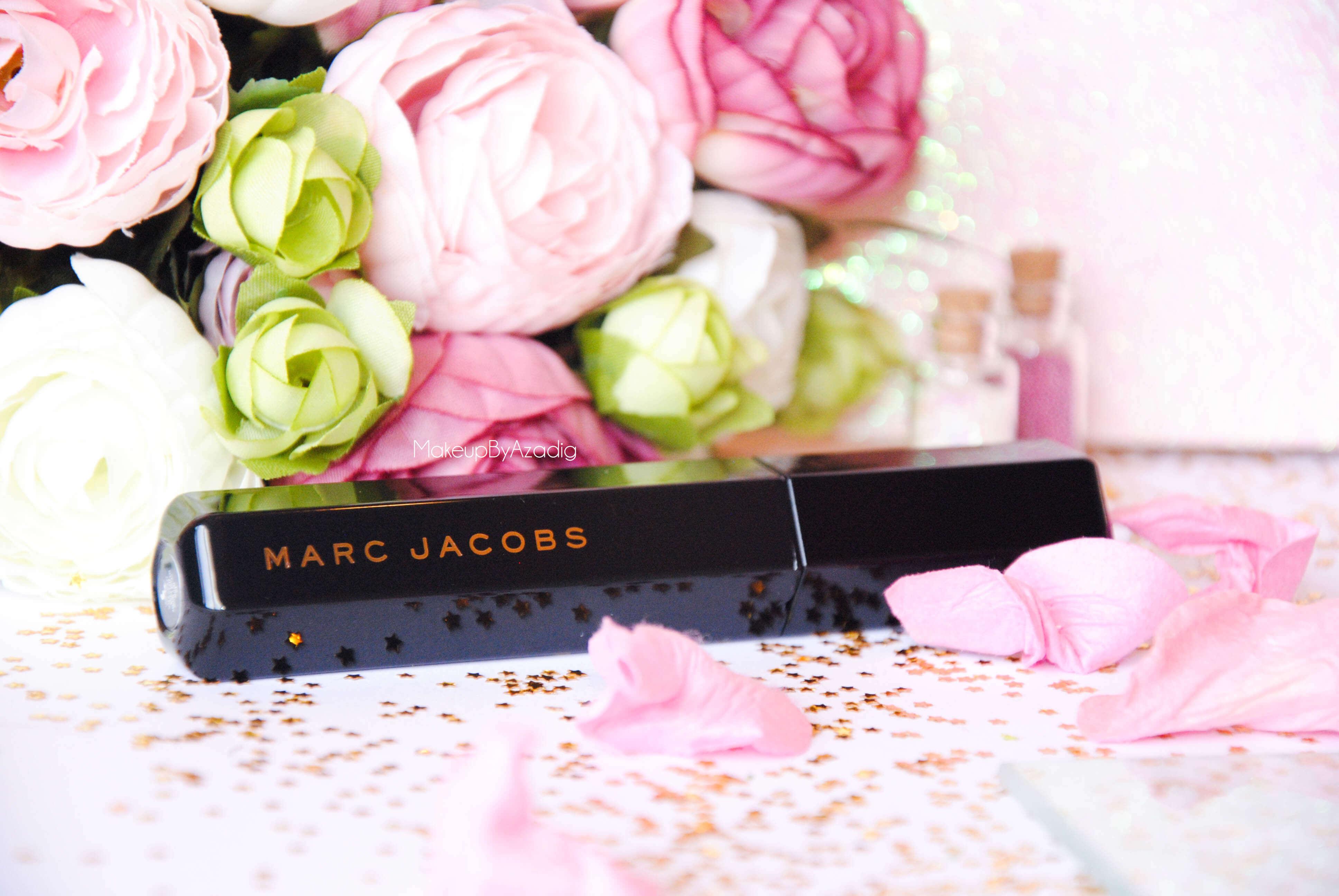 velvet noir-volume spectaculaire-marc jacobs-makeupbyazadig-revue-review-mascara-noir intense-flower