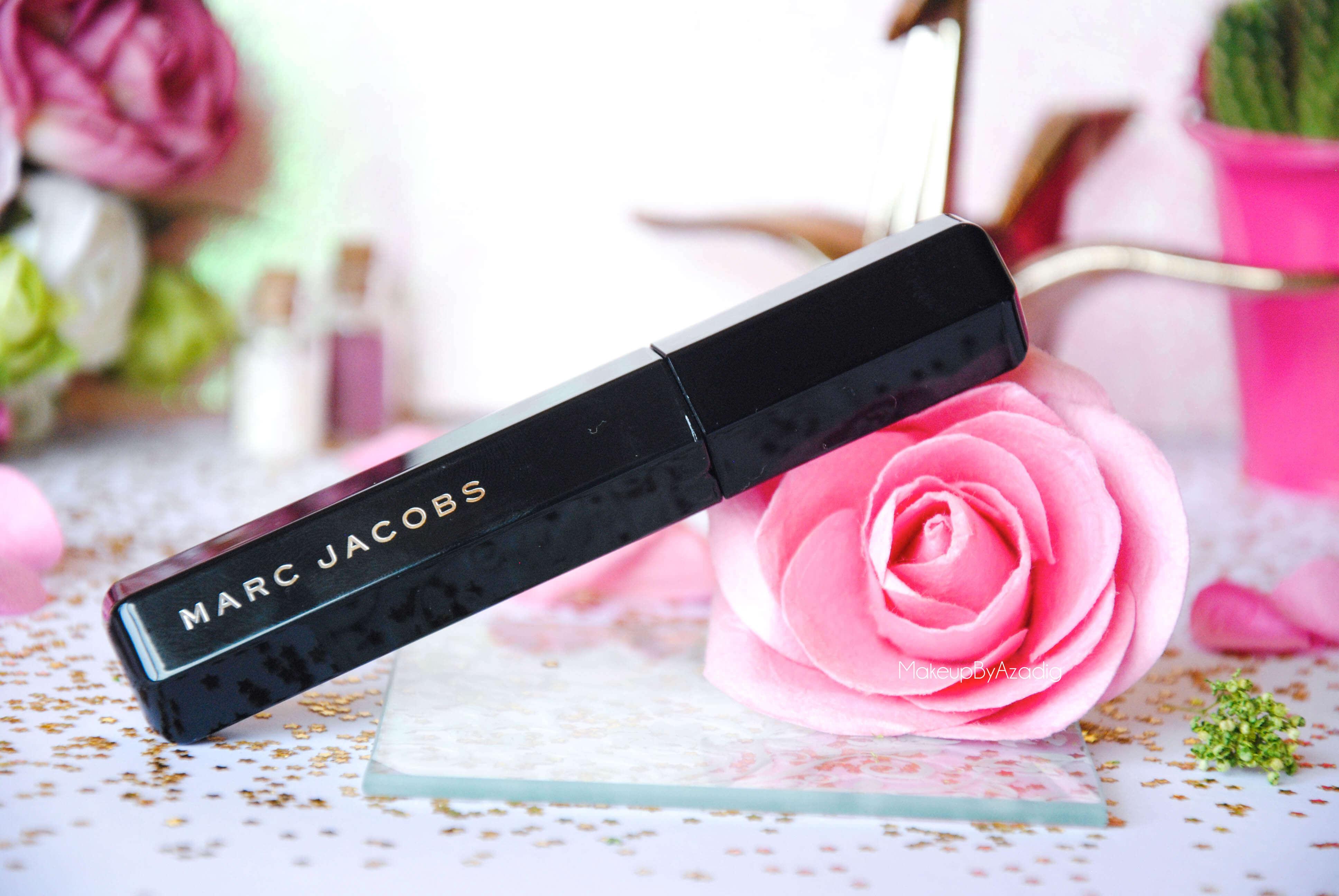 velvet noir-volume spectaculaire-marc jacobs-makeupbyazadig-revue-review-mascara-noir intense-rose