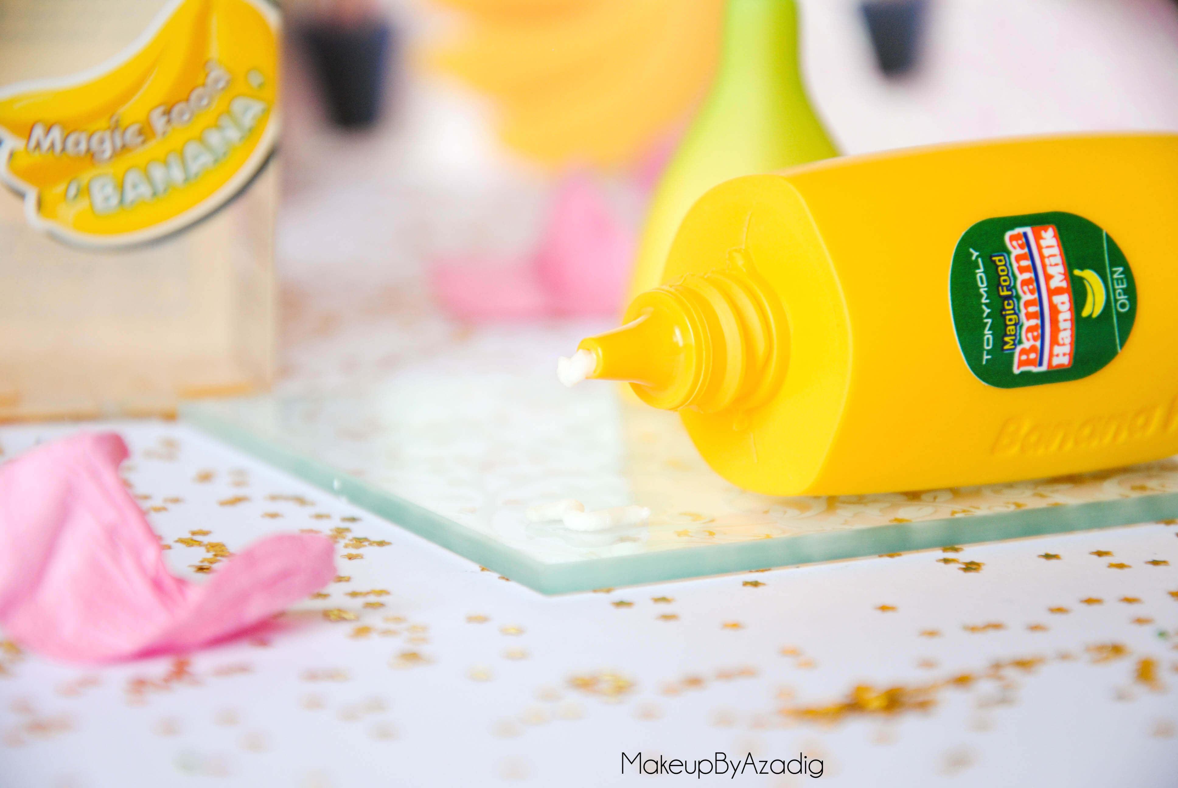 magic-food-banana-hand-milk-tonymoly-banane-creme-main-hand-cream-review-revue-paris-dijon-troyes-makeupbyazadig-kawai-texture