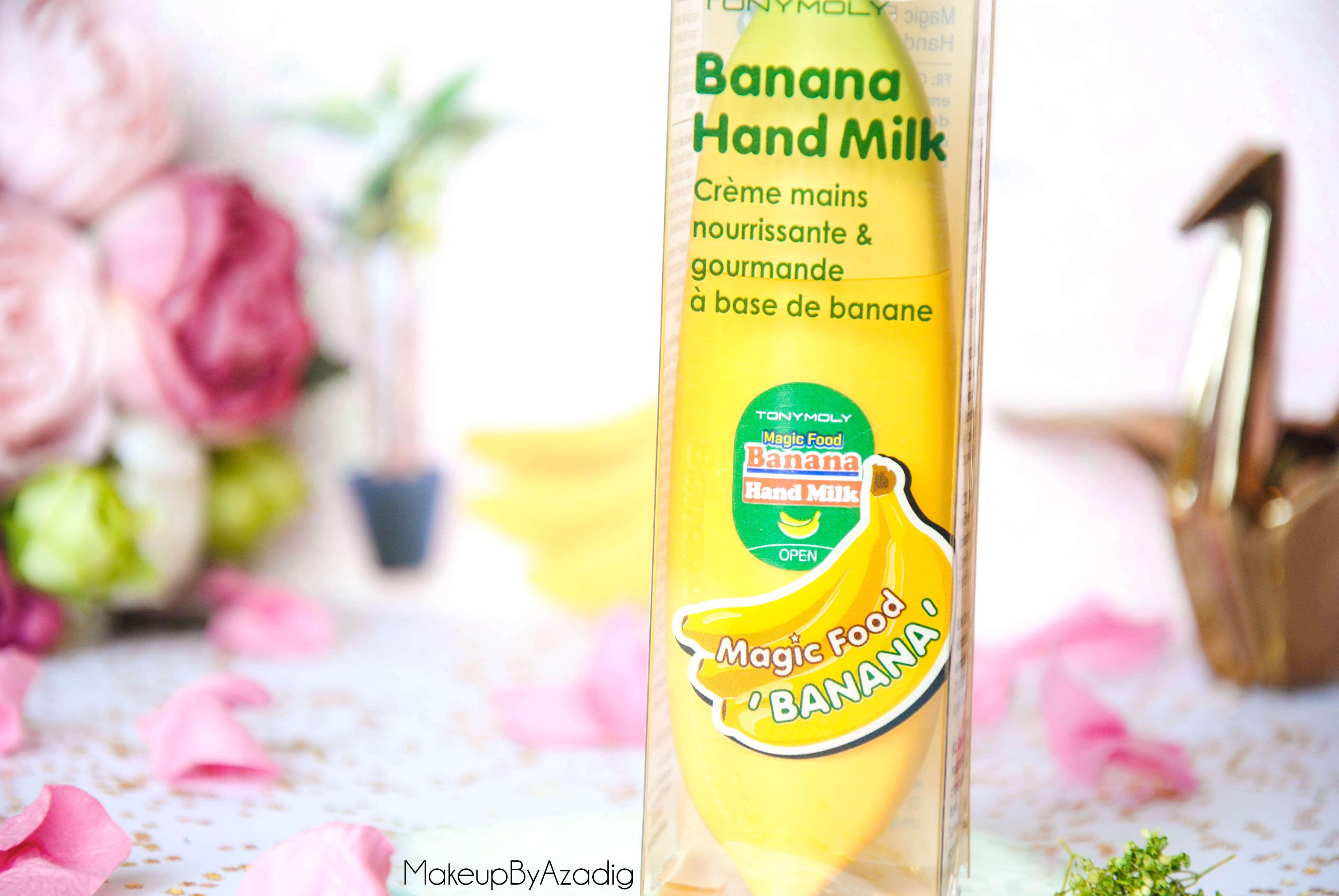 magic-food-banana-hand-milk-tonymoly-banane-creme-main-hand-cream-review-revue-paris-dijon-troyes-makeupbyazadig-kawai-yellow