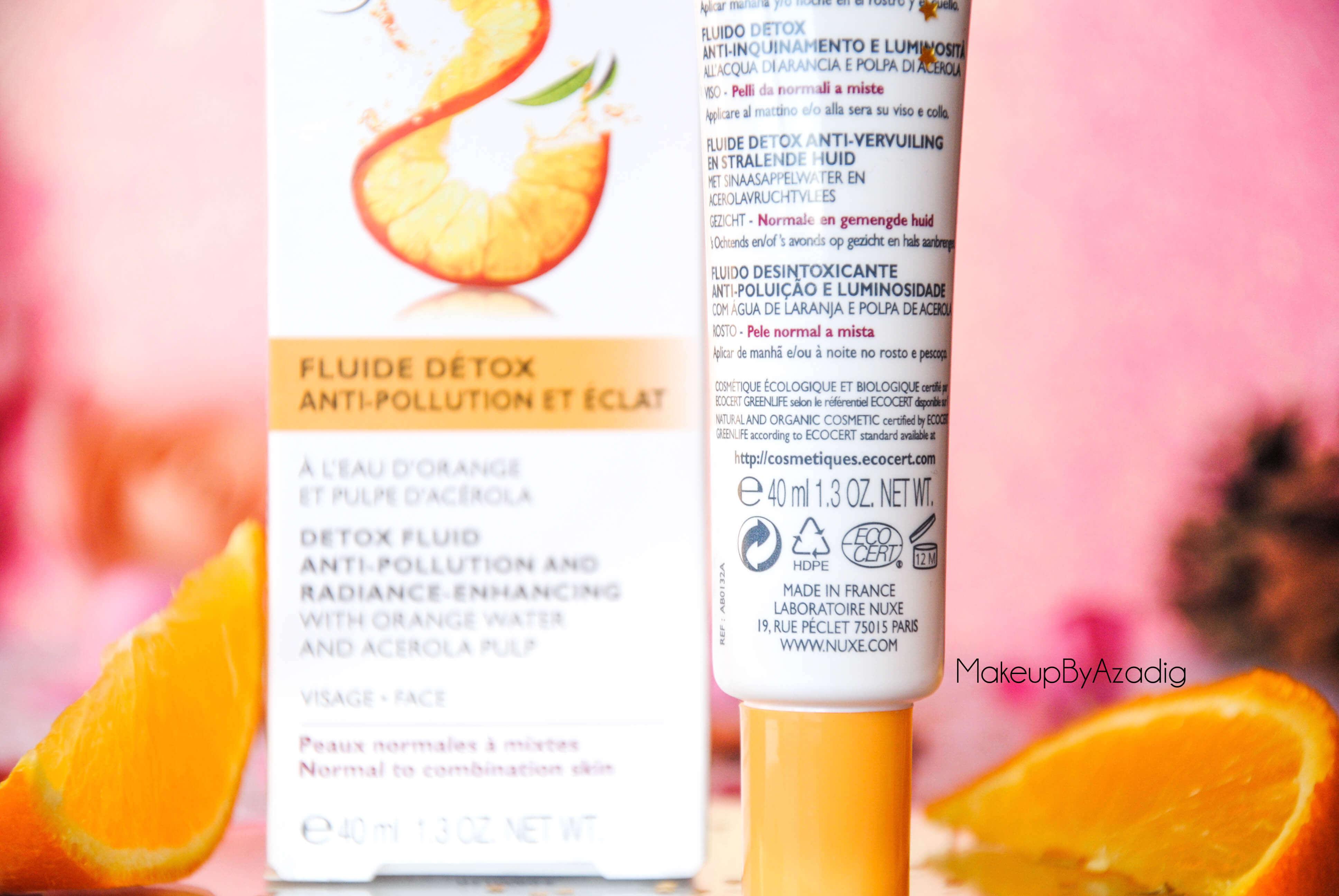 bio-beaute-nuxe-lotion-fluide-creme-contour-des-yeux-masque-orange-acerola-doctipharma-routine-du-matin-detox-soin-troyes-paris-makeupbyazadig-blog-revue-review-anti-pollution-pulpe