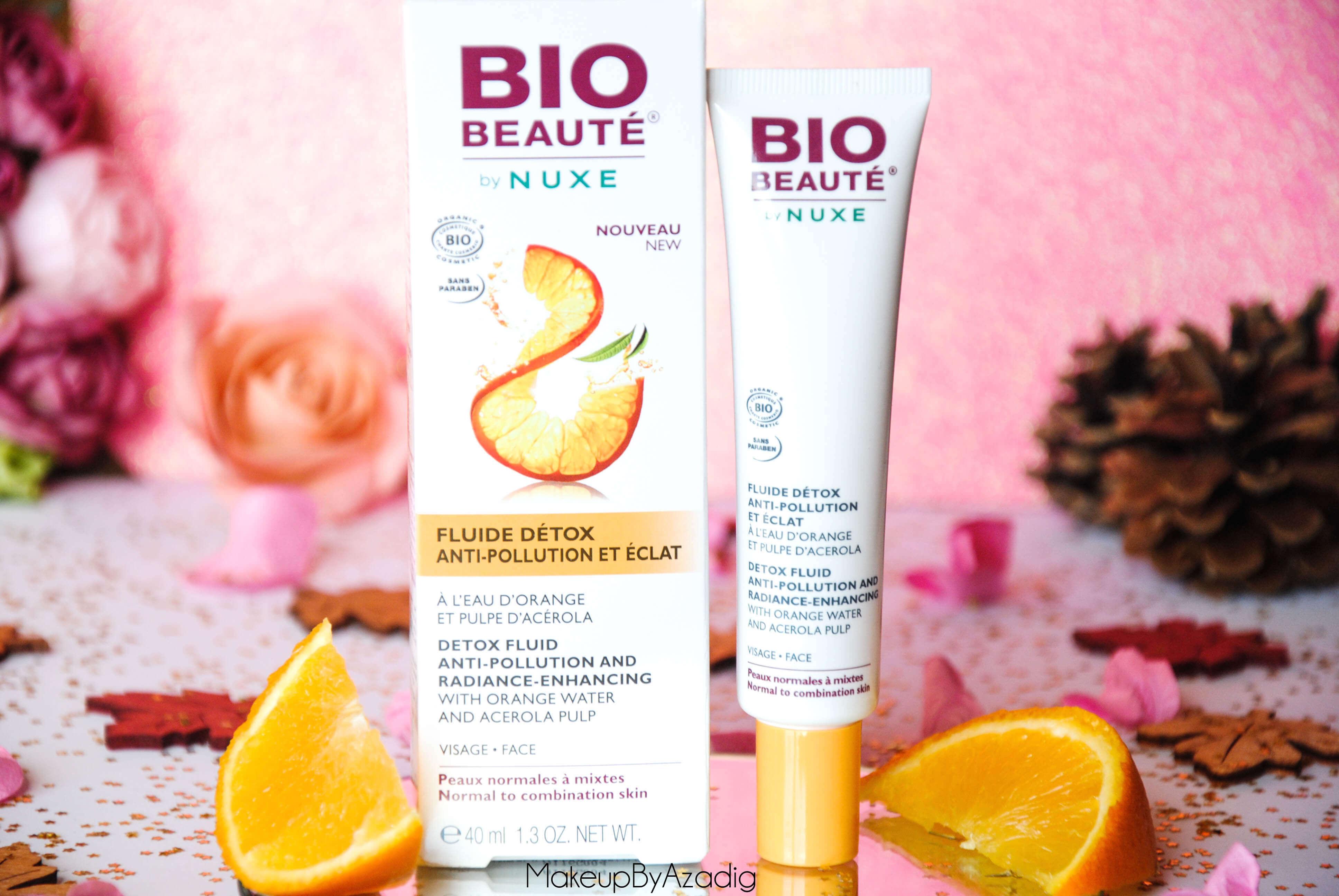 bio-beaute-nuxe-lotion-fluide-creme-contour-des-yeux-masque-orange-acerola-doctipharma-routine-du-matin-detox-troyes-paris-makeupbyazadig-blog-revue-review-anti-pollution-g